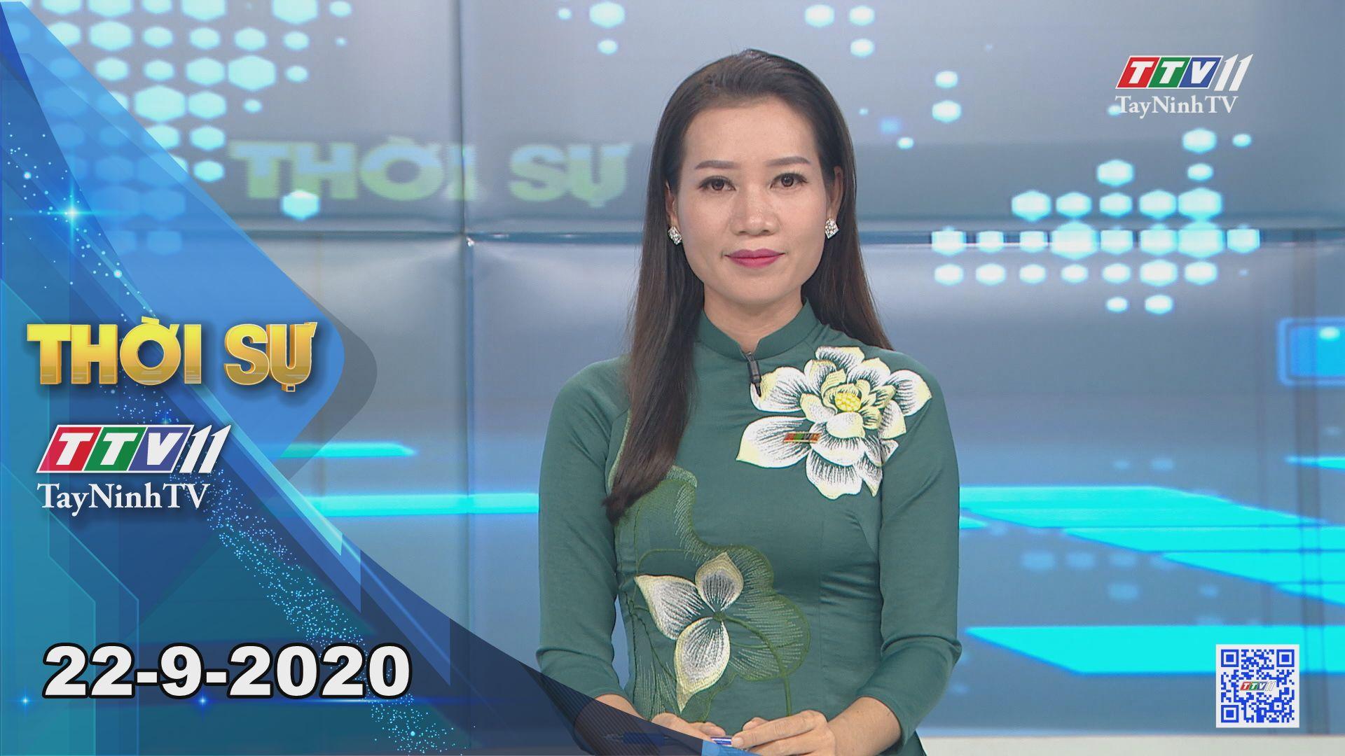 Thời sự Tây Ninh 22-9-2020 | Tin tức hôm nay | TayNinhTV