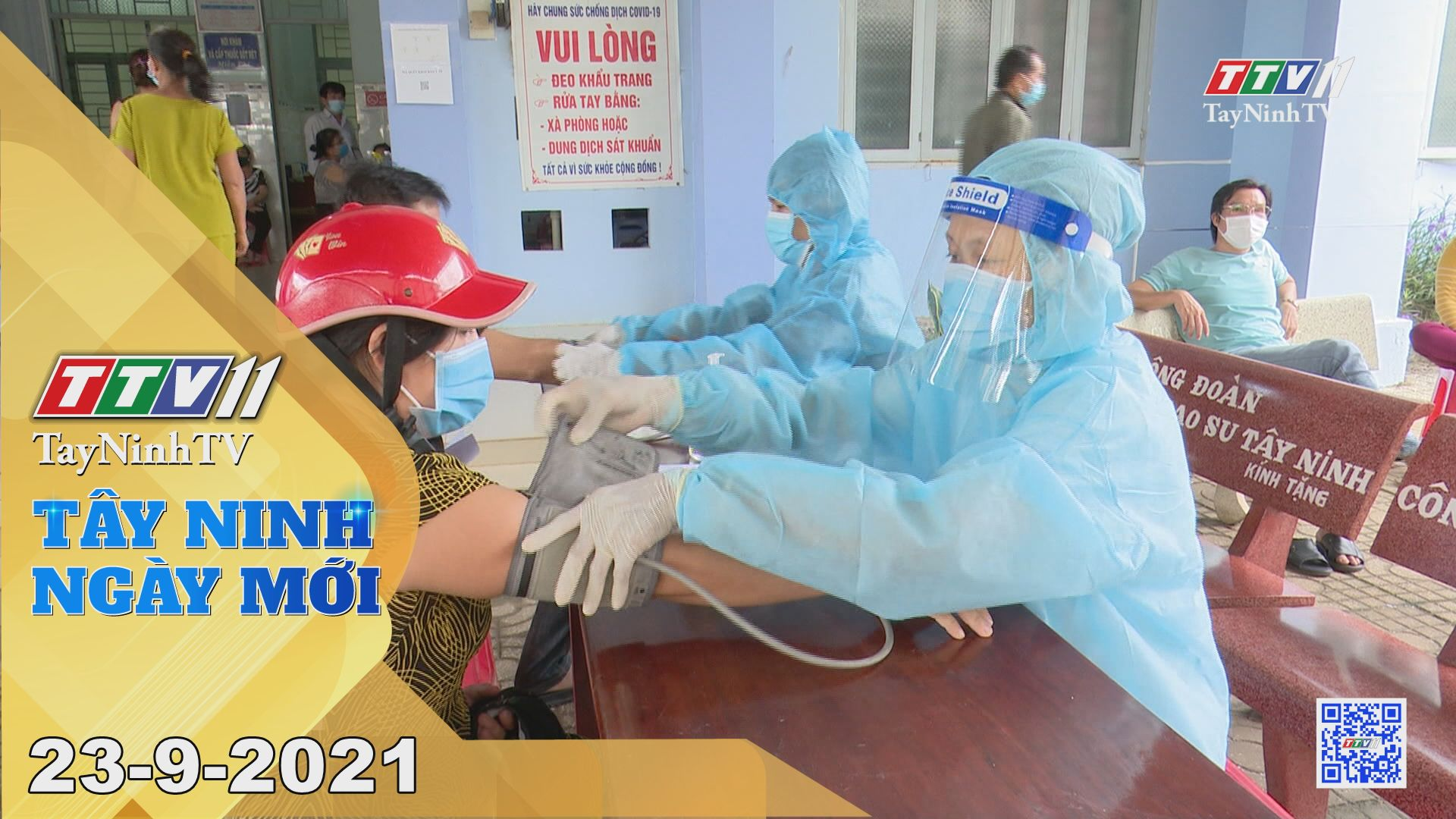 Tây Ninh Ngày Mới 23/9/2021 | Tin tức hôm nay | TayNinhTV