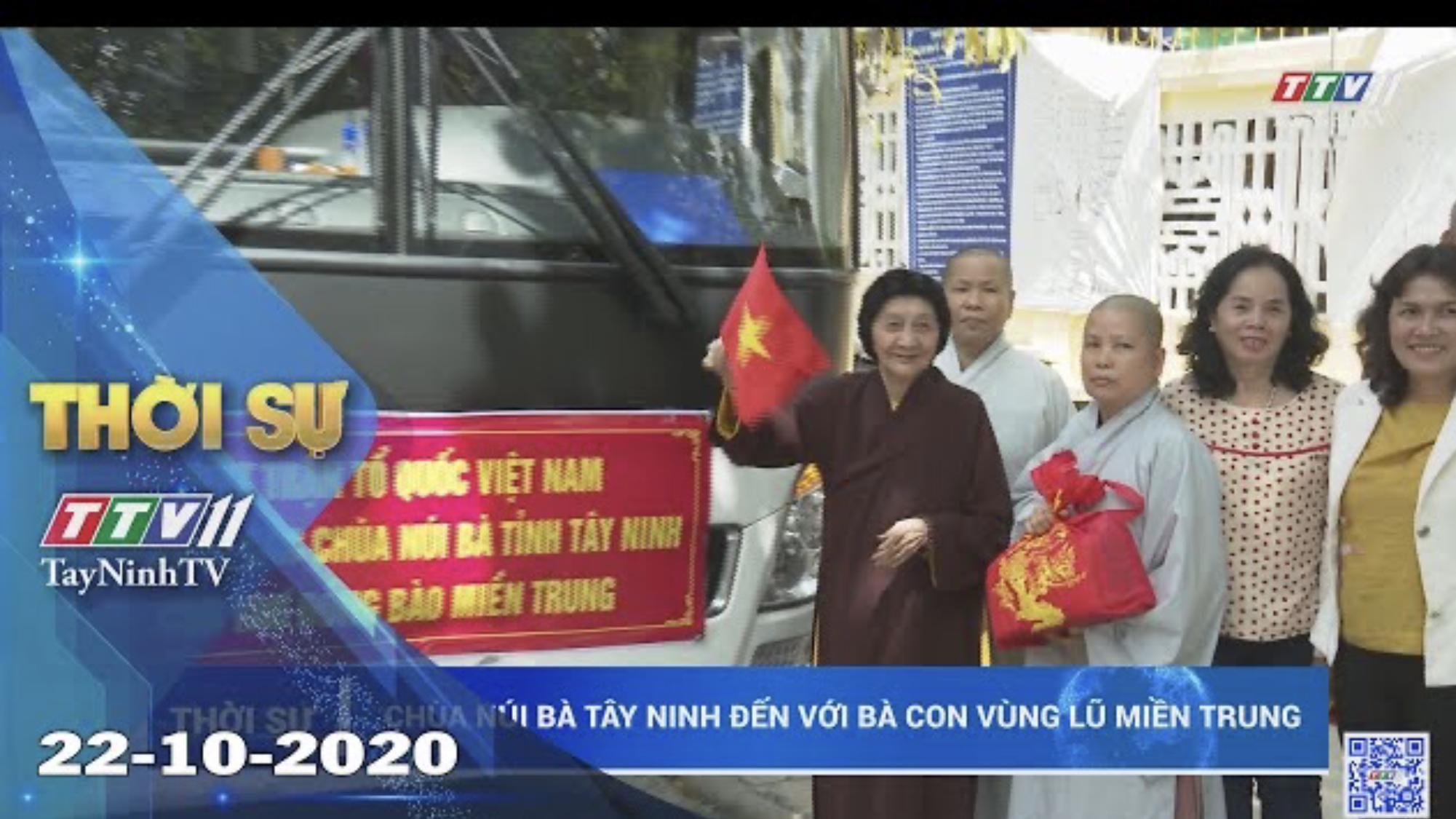 Thời sự Tây Ninh 22-10-2020 | Tin tức hôm nay | TayNinhTV