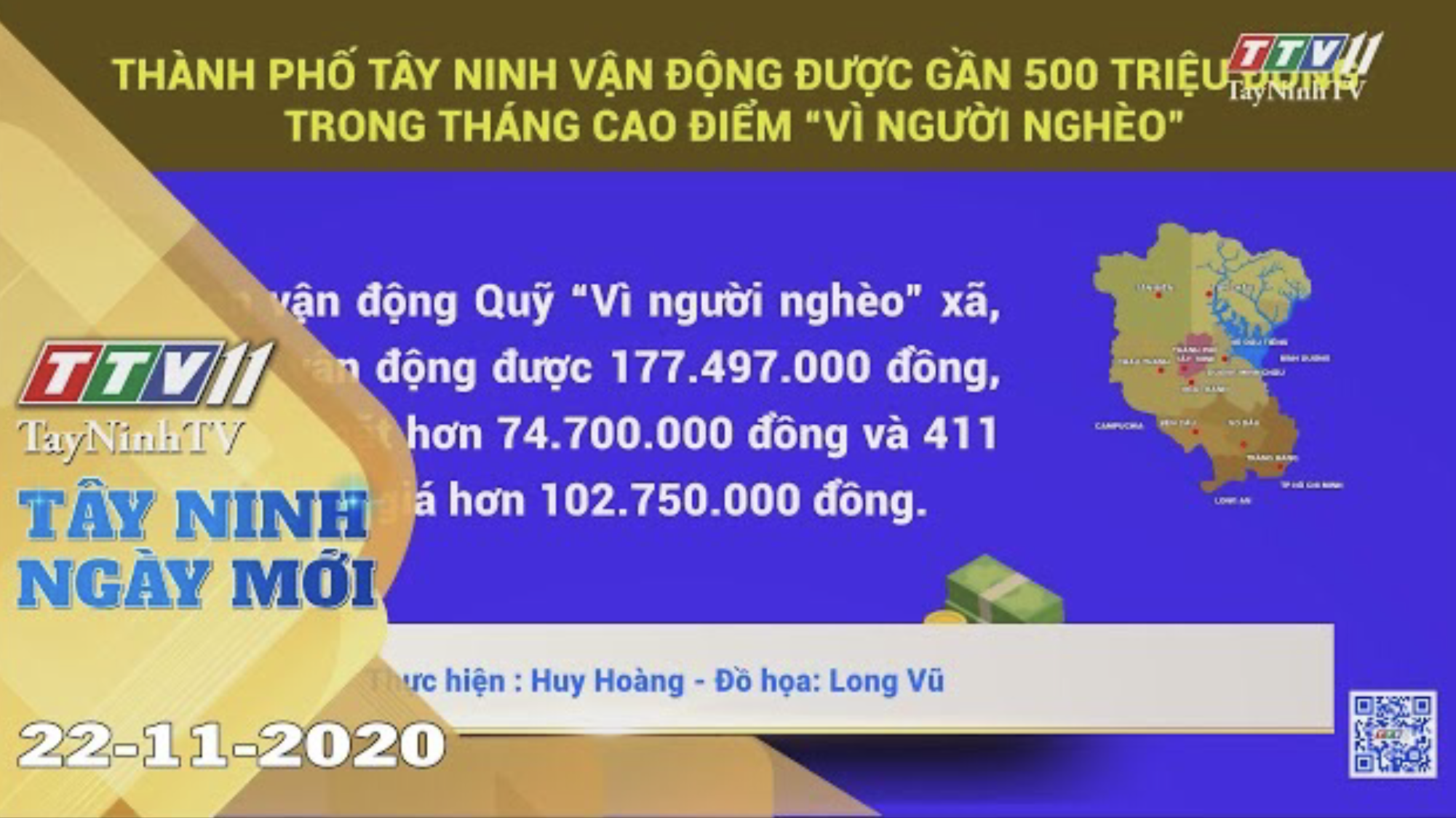 Tây Ninh Ngày Mới 22-11-2020 | Tin tức hôm nay | TayNinhTV