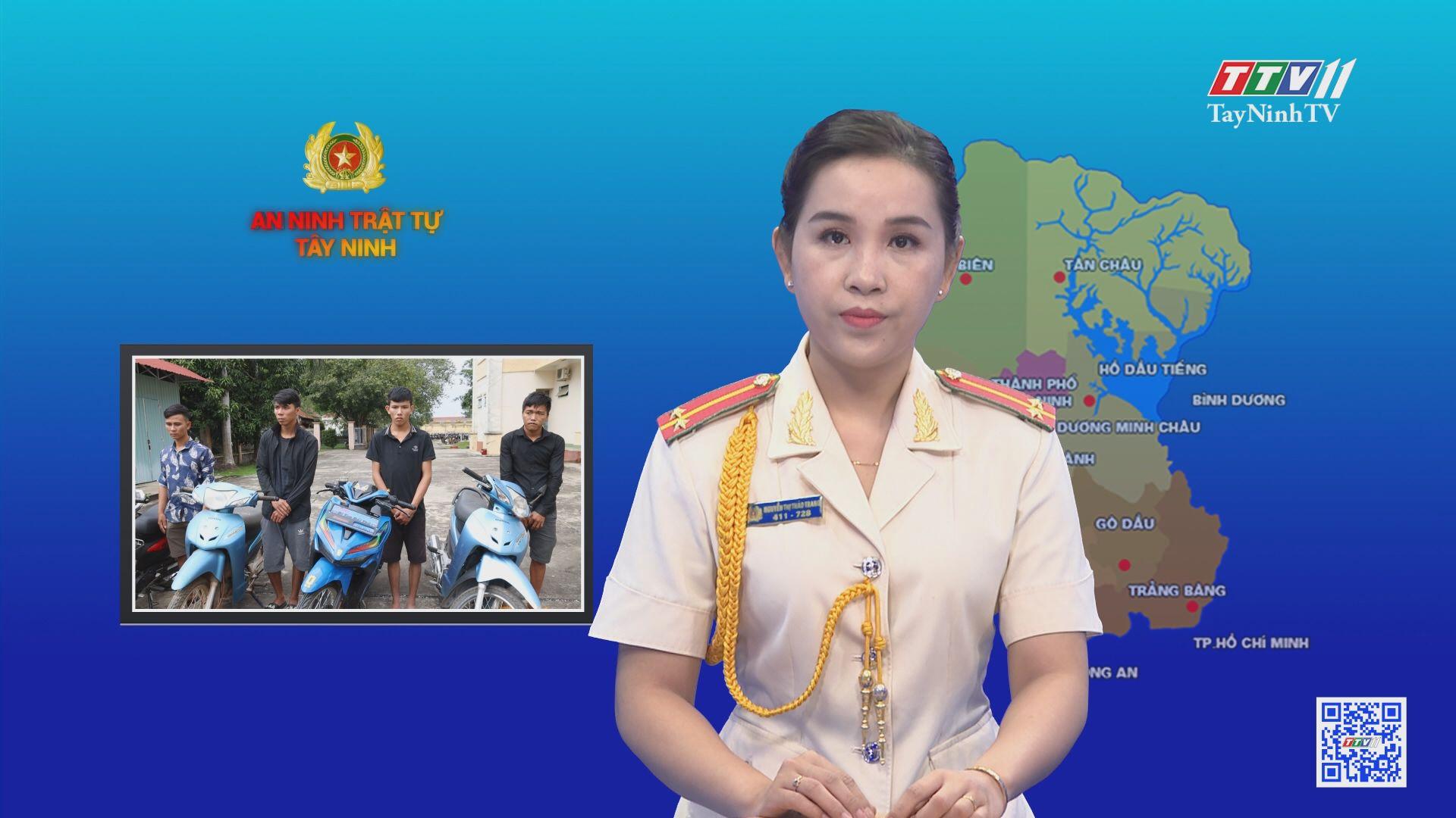 Công an Tân Châu triệt phá đường dây tiêu thụ xe gian liên tỉnh | AN NINH TRẬT TỰ | TayNinhTV