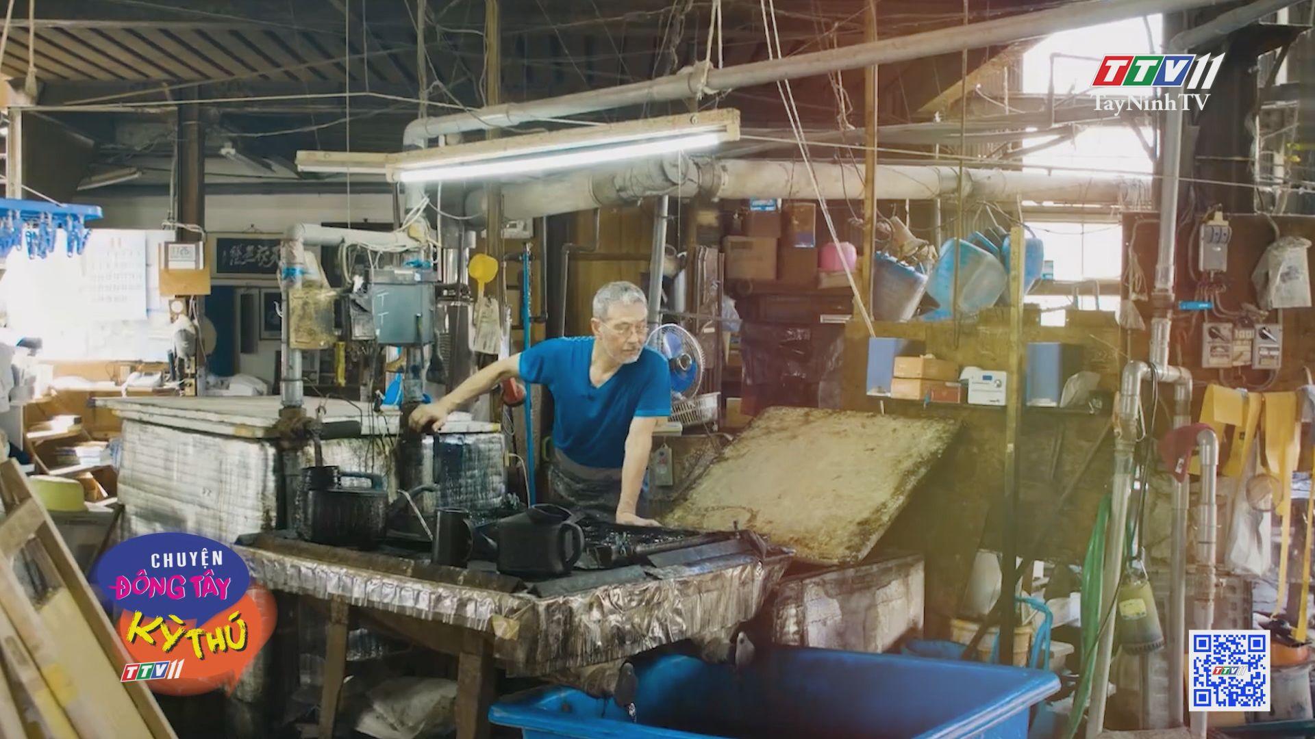 Nhuộm chàm và câu chuyện về màu xanh Nhật Bản | CHUYỆN ĐÔNG TÂY KỲ THÚ | TayNinhTV