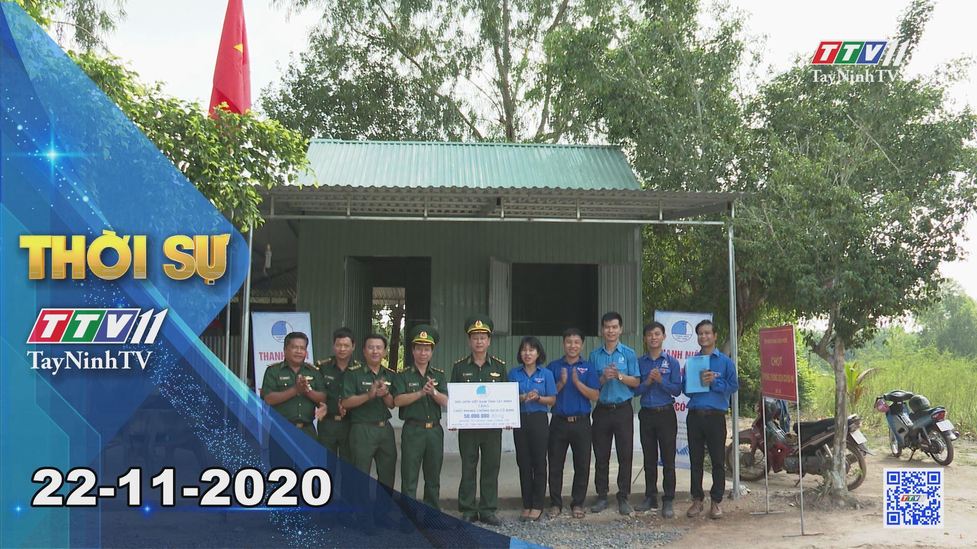 Thời sự Tây Ninh 22-11-2020 | Tin tức hôm nay | TayNinhTV
