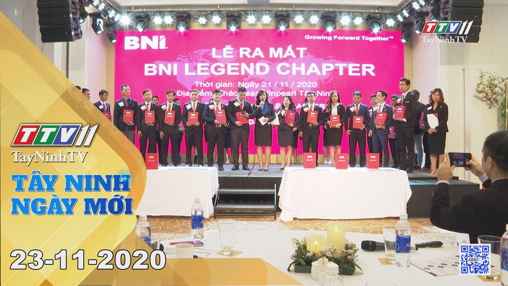 Tây Ninh Ngày Mới 23-11-2020 | Tin tức hôm nay | TayNinhTV