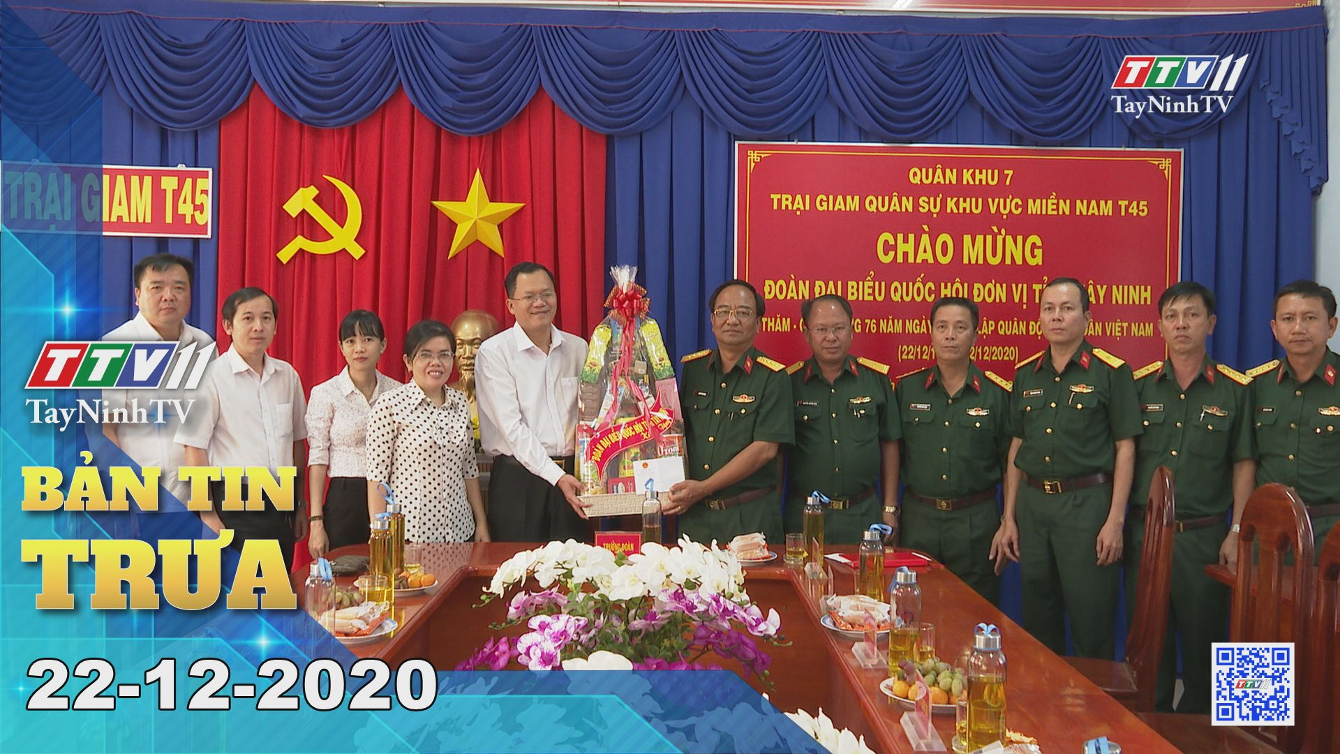 Bản tin trưa 22-12-2020 | Tin tức hôm nay | TayNinhTV