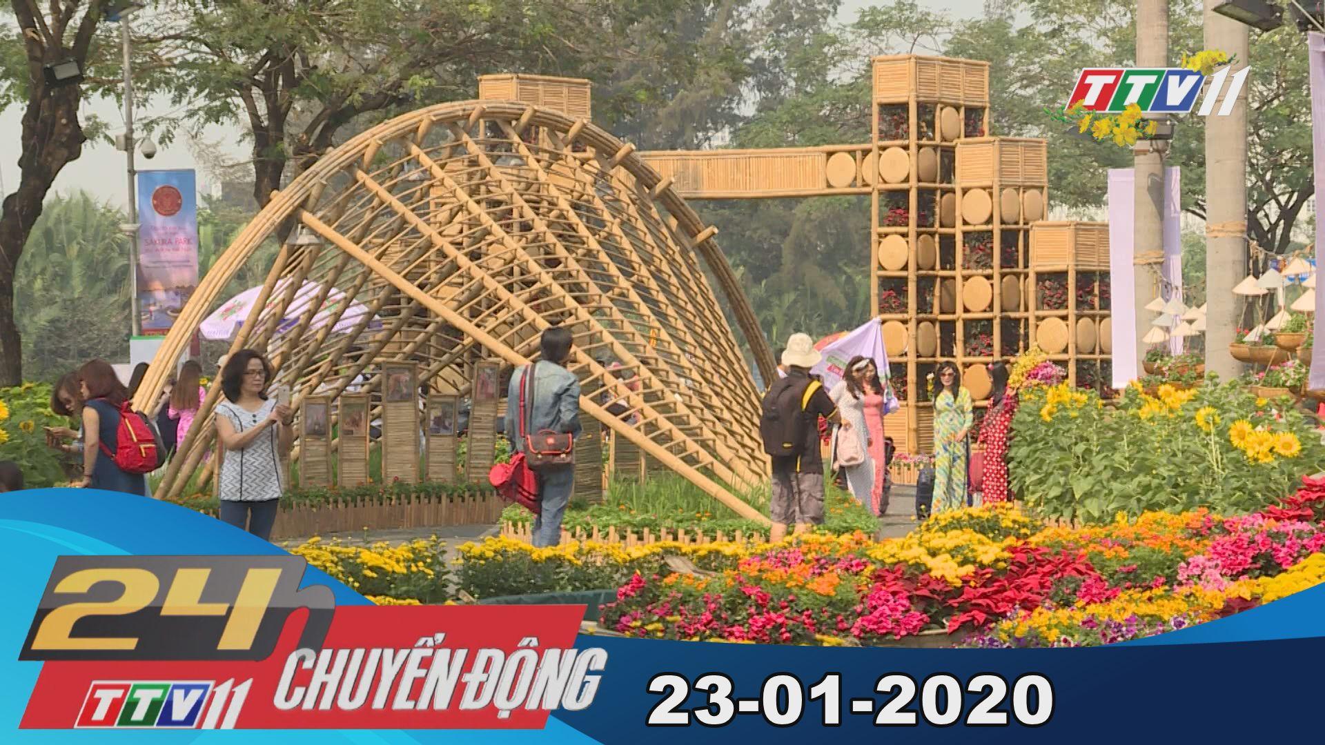 24h Chuyển động 23-01-2020 | Tin tức hôm nay | TayNinhTV