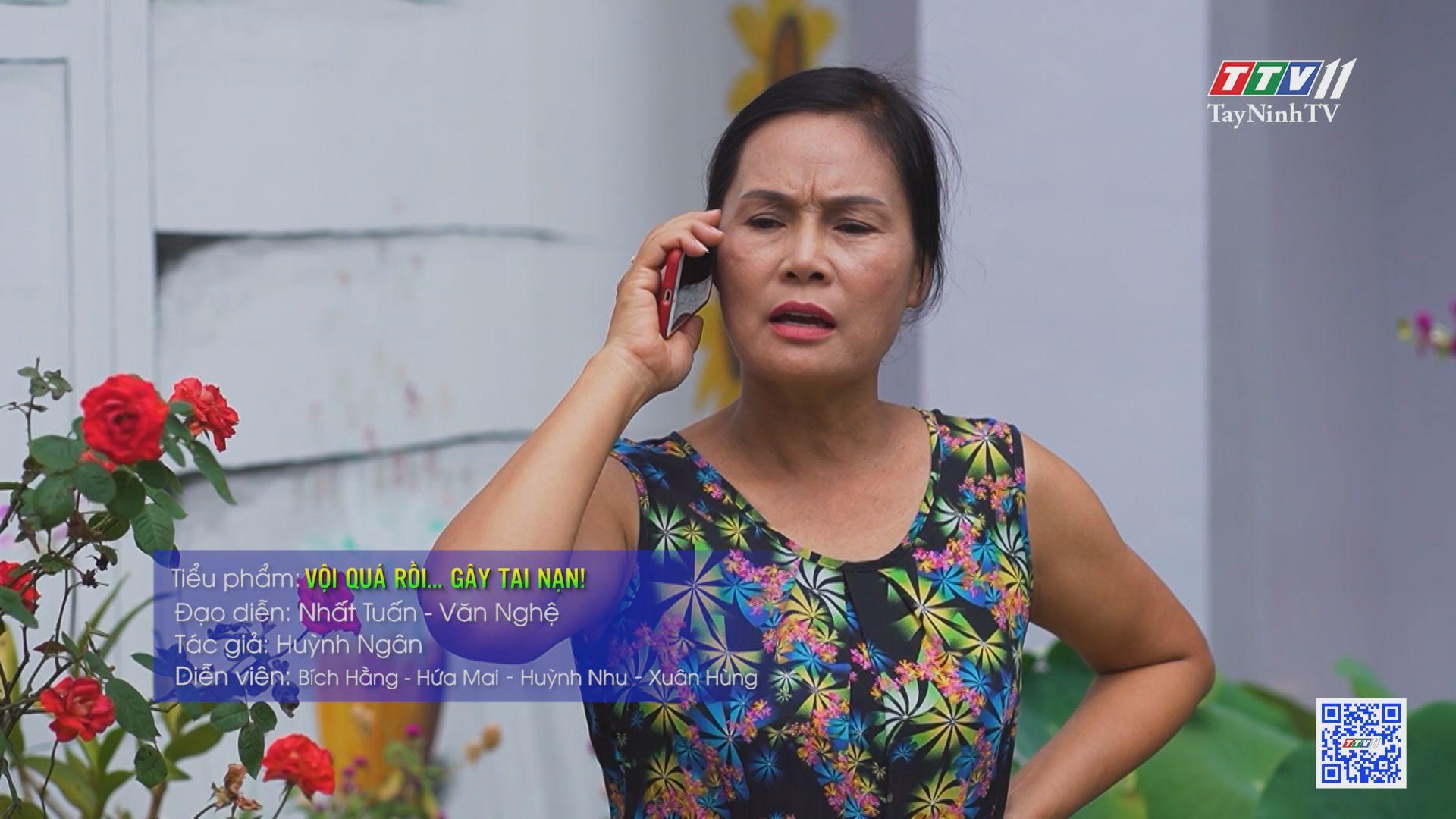 TayNinhTV | Văn hóa giao thông | Vội quá rồi gây tai nạn!