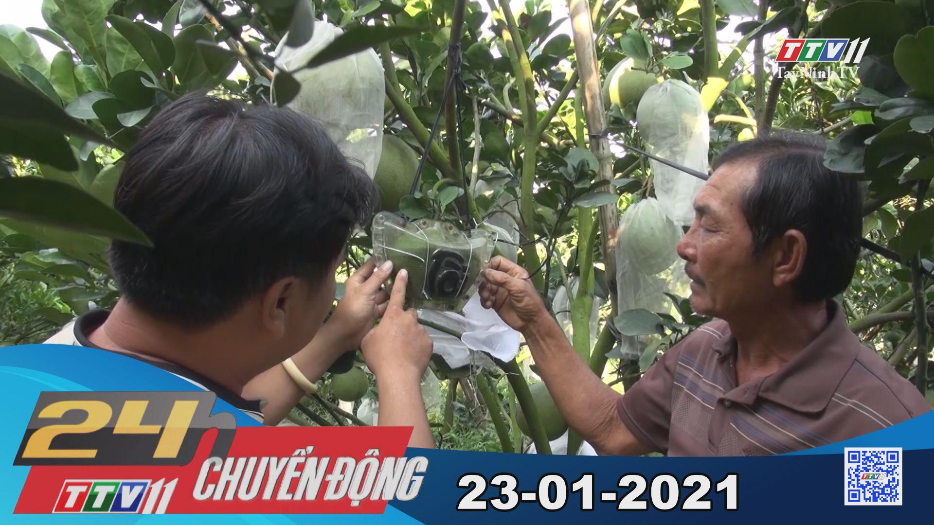 24h Chuyển động 23-01-2021 | Tin tức hôm nay | TayNinhTV