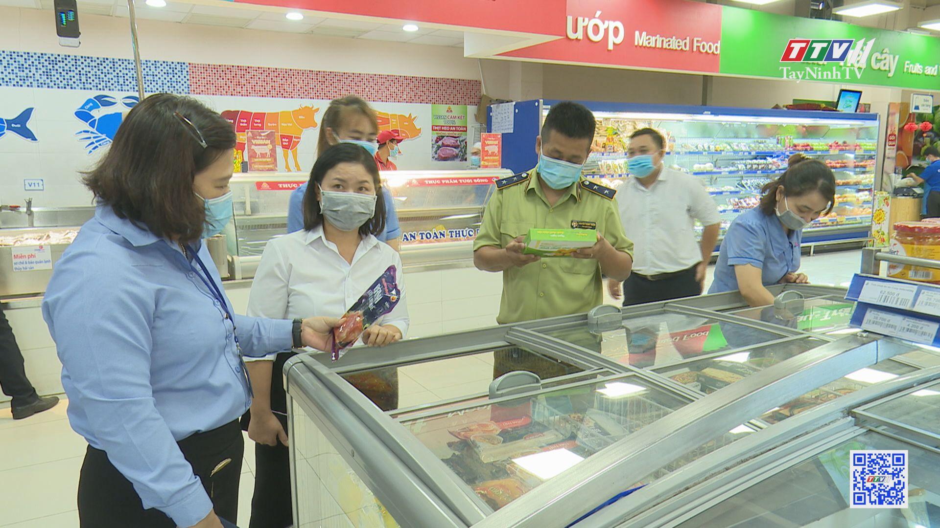 Tăng cường phòng chống buôn lậu, gian lận thương mại đảm bảo vệ sinh an toàn thực phẩm | TIẾNG NÓI CỬ TRI | TayNinhTV