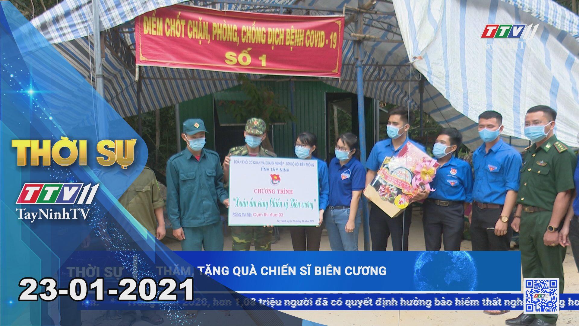 Thời sự Tây Ninh 23-01-2021 | Tin tức hôm nay | TayNinhTV