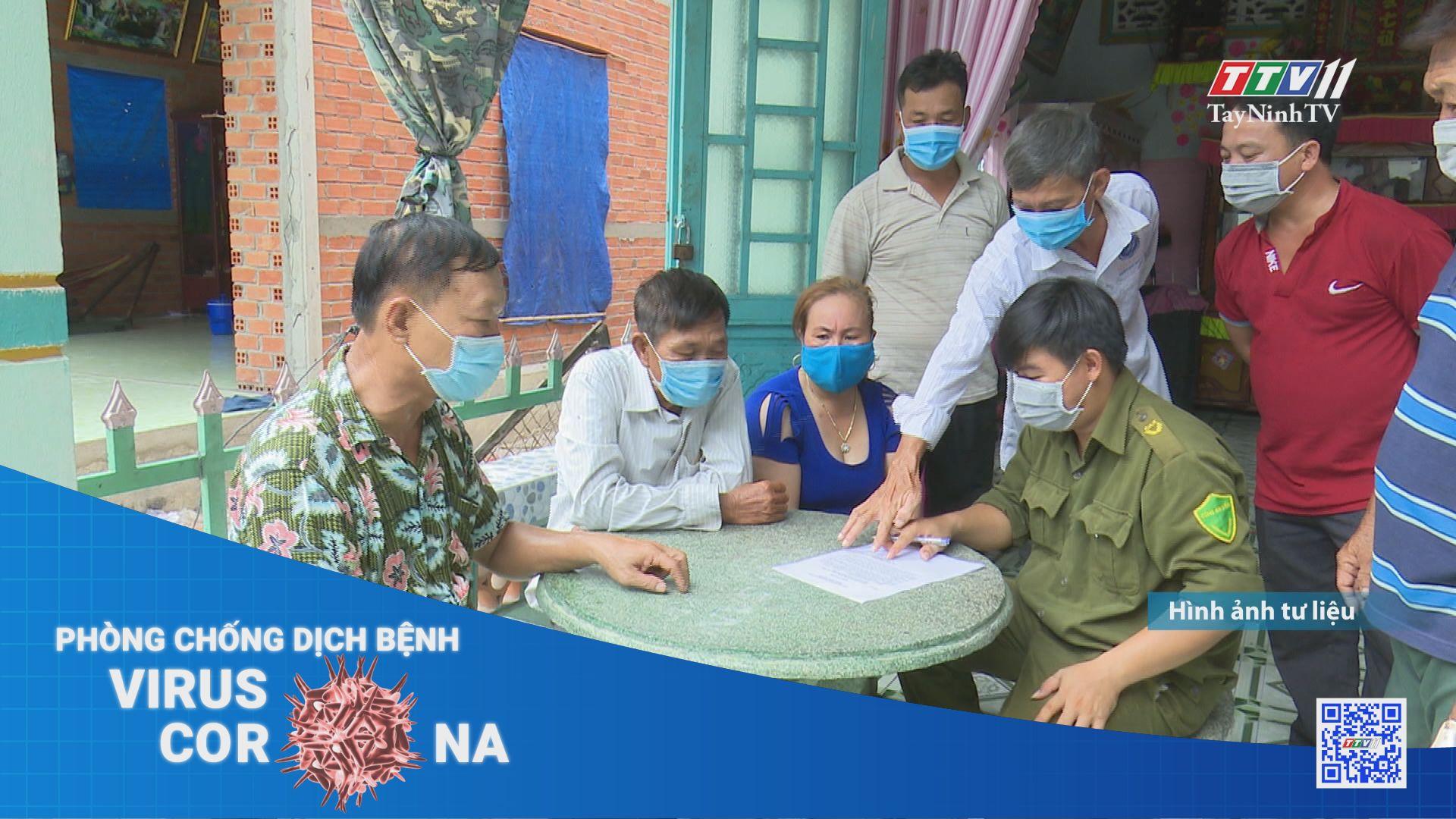 Giám sát khép kín đối với người nhập cảnh trong cao điểm Tết Nguyên đán | THÔNG TIN DỊCH CÚM COVID-19 | TayNinhTV