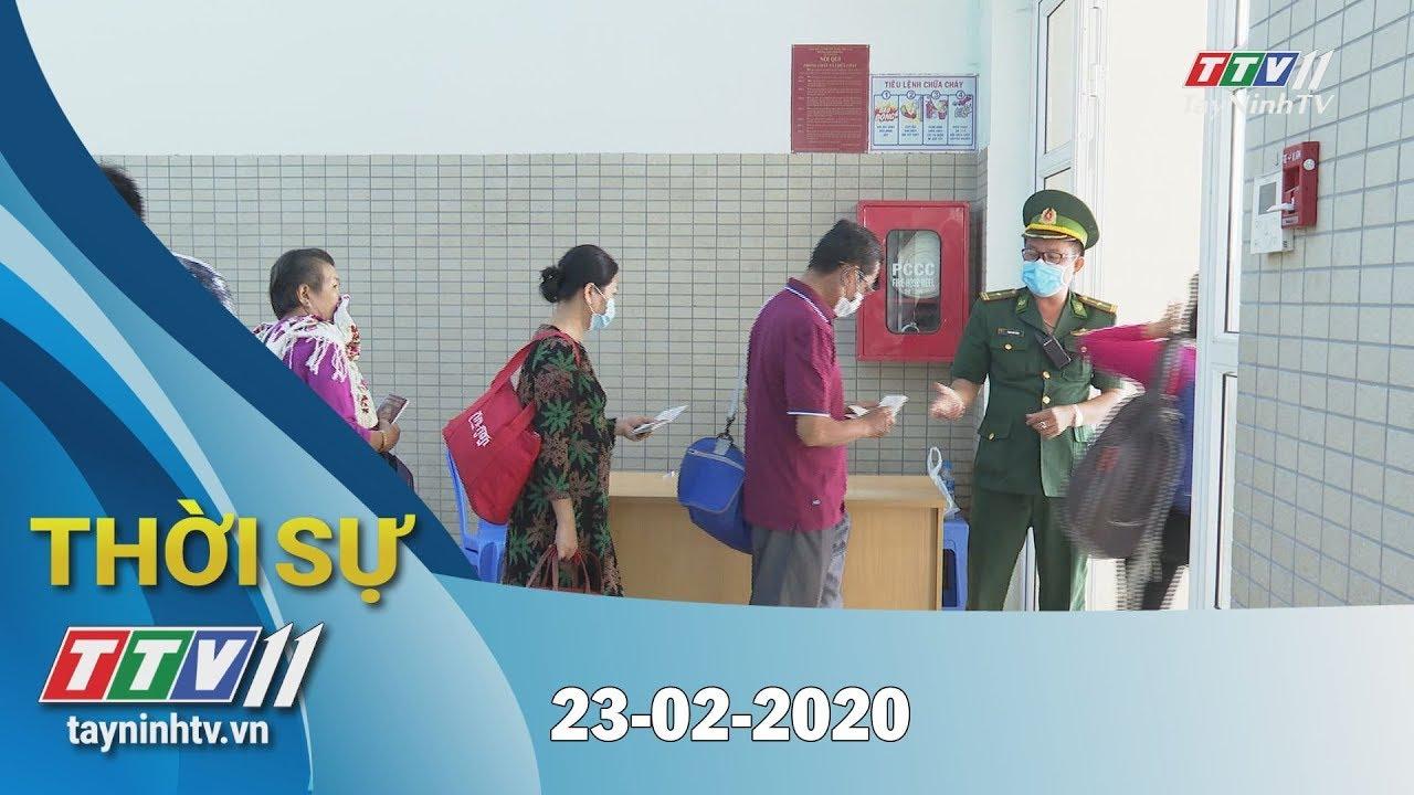 Thời sự Tây Ninh 23-02-2020 | Tin tức hôm nay | TayNinhTV