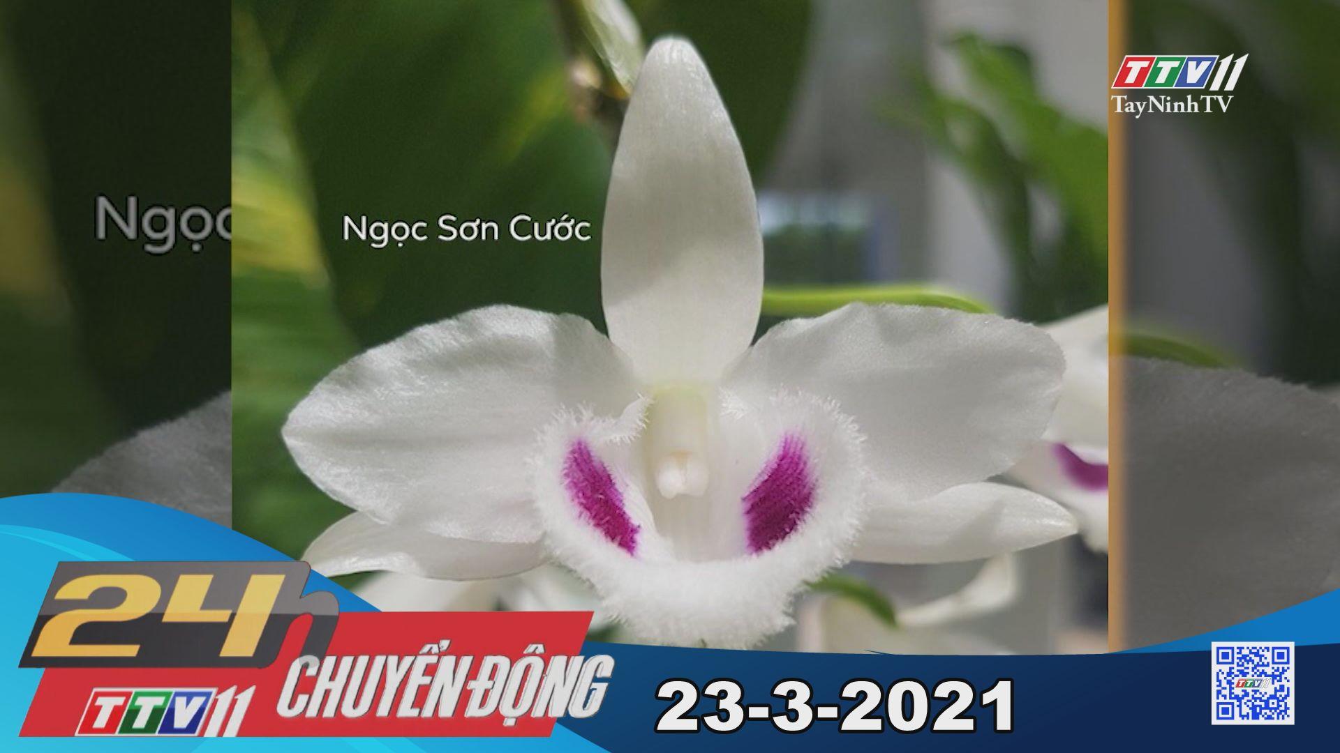 24h Chuyển động 23-3-2021 | Tin tức hôm nay | TayNinhTV