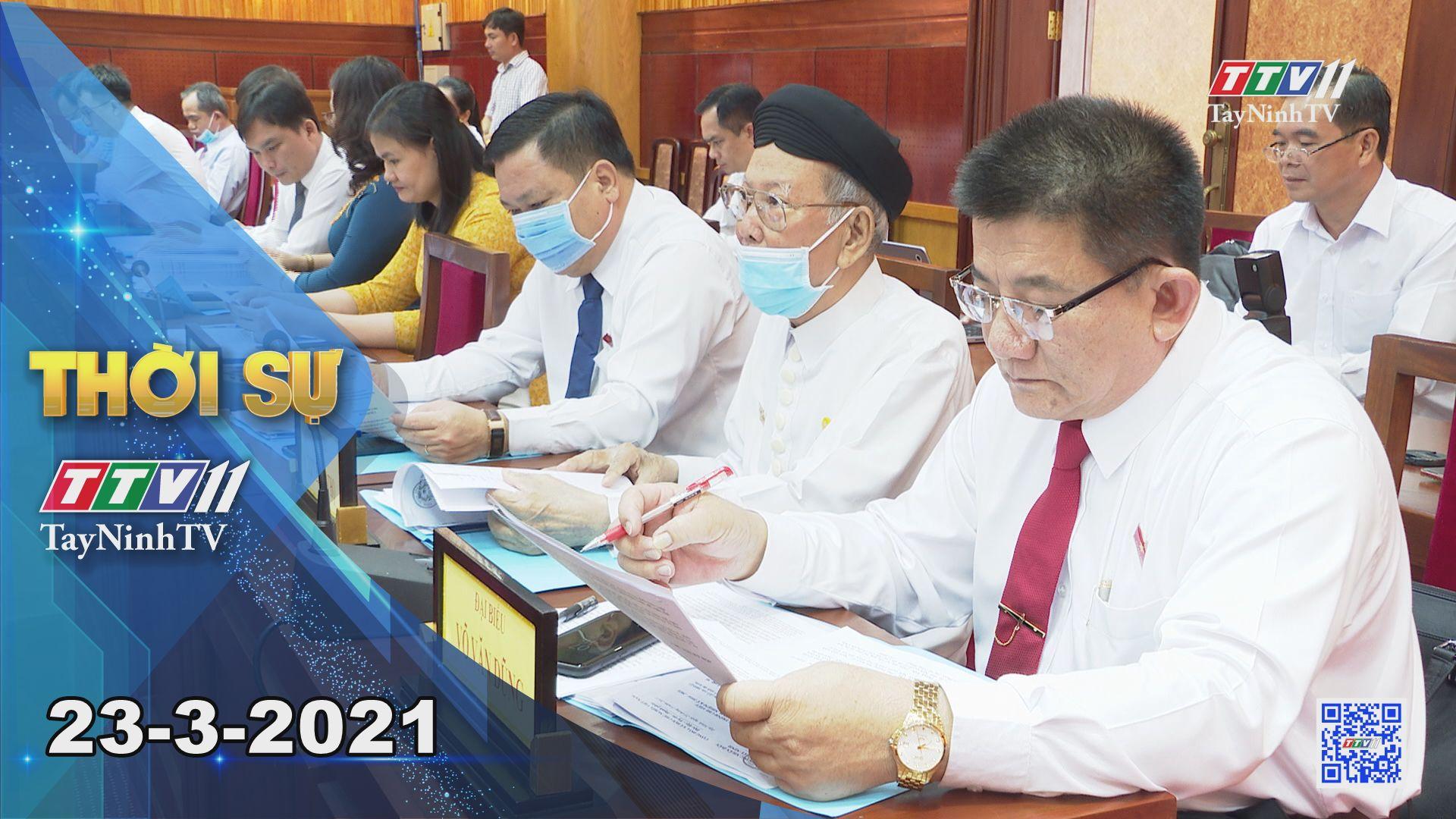 Thời sự Tây Ninh 23-3-2021 | Tin tức hôm nay | TayNinhTV
