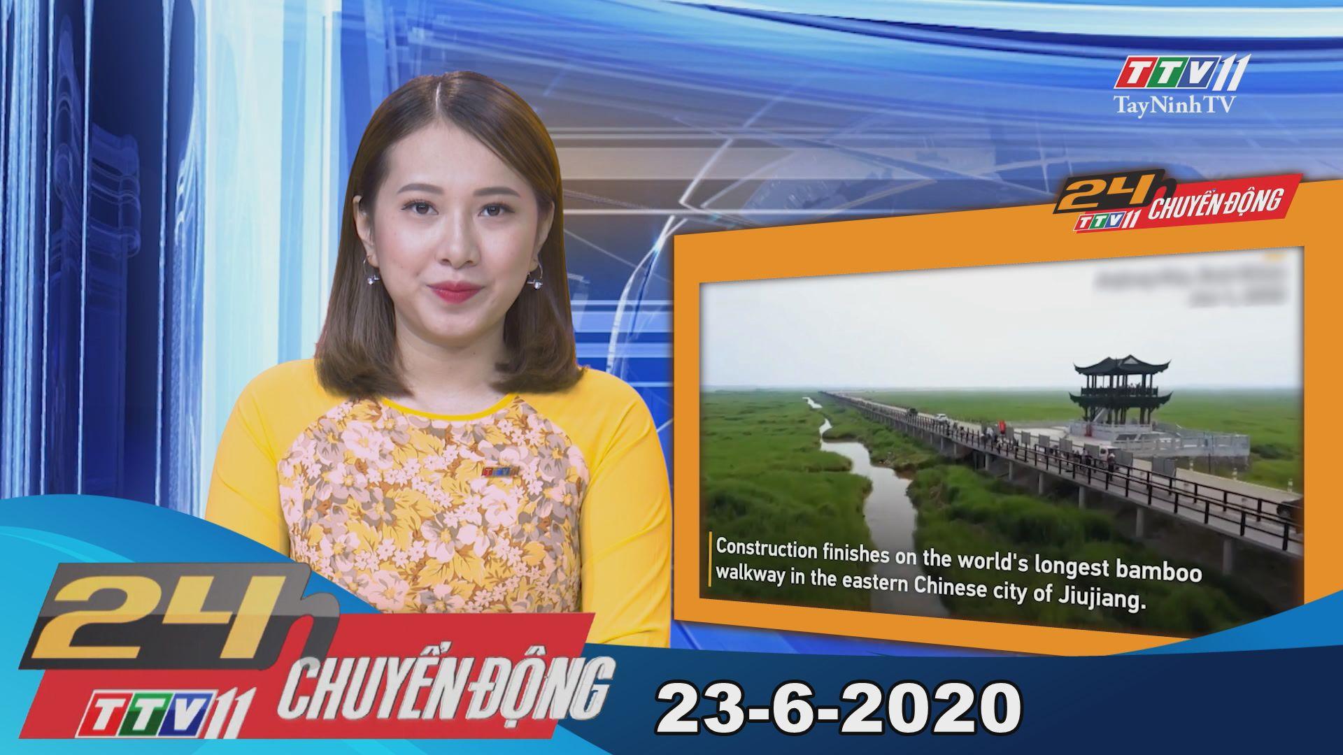 24h Chuyển động 23-6-2020 | Tin tức hôm nay | TayNinhTV
