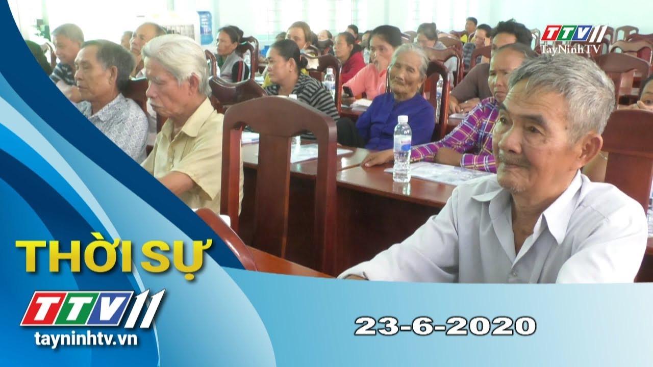 Thời sự Tây Ninh 23-6-2020 | Tin tức hôm nay | TayNinhTV