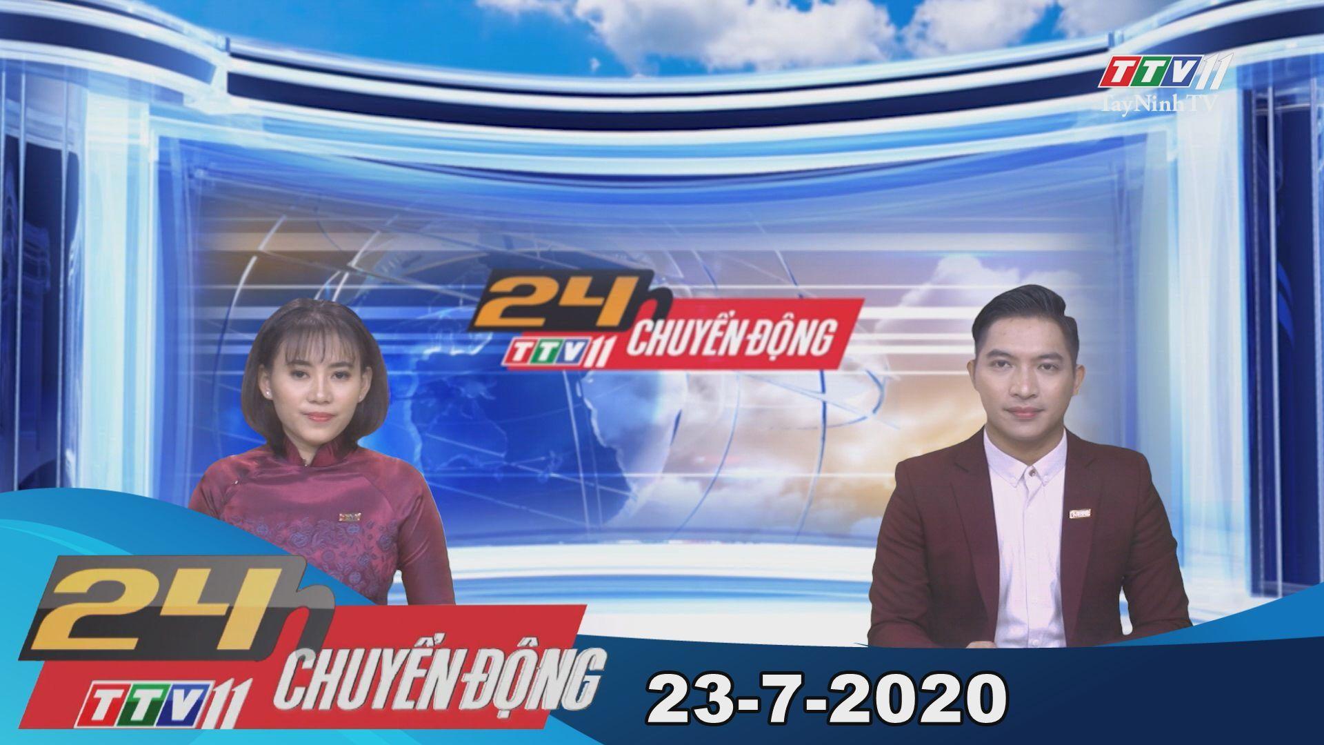 24h Chuyển động 23-7-2020 | Tin tức hôm nay | TayNinhTV