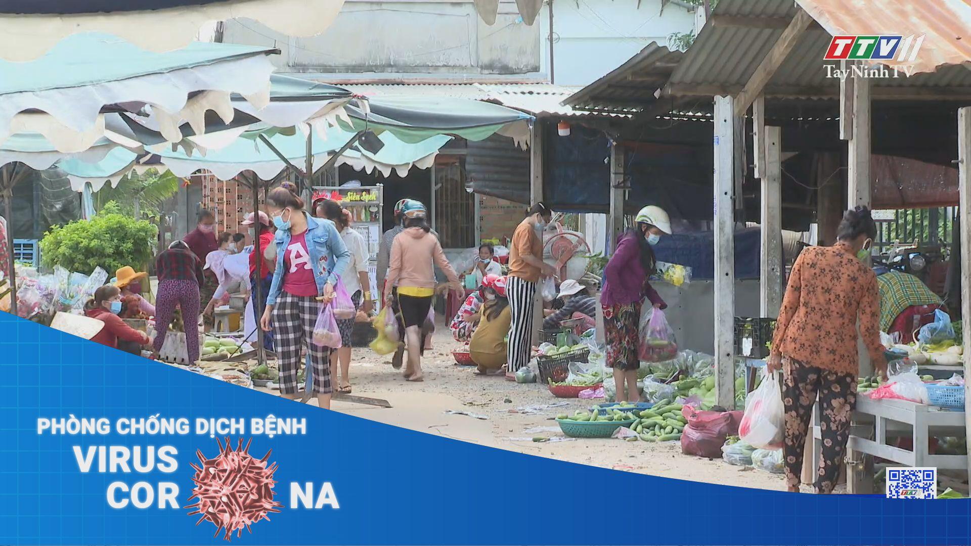 Huyện Dương Minh Châu: Thực hiện phát phiếu đi chợ cho người dân   THÔNG TIN DỊCH COVID-19   TayNinhTV