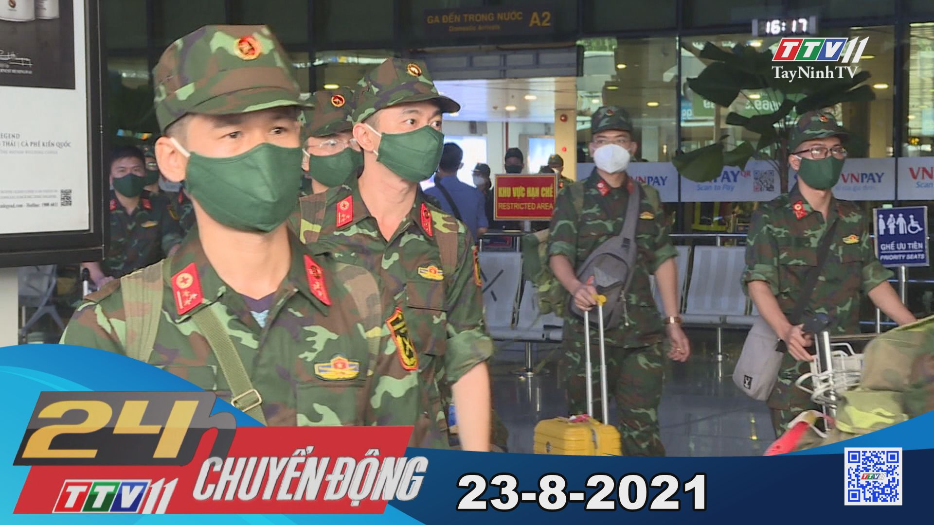 24h Chuyển động 23-8-2021 | Tin tức hôm nay | TayNinhTV