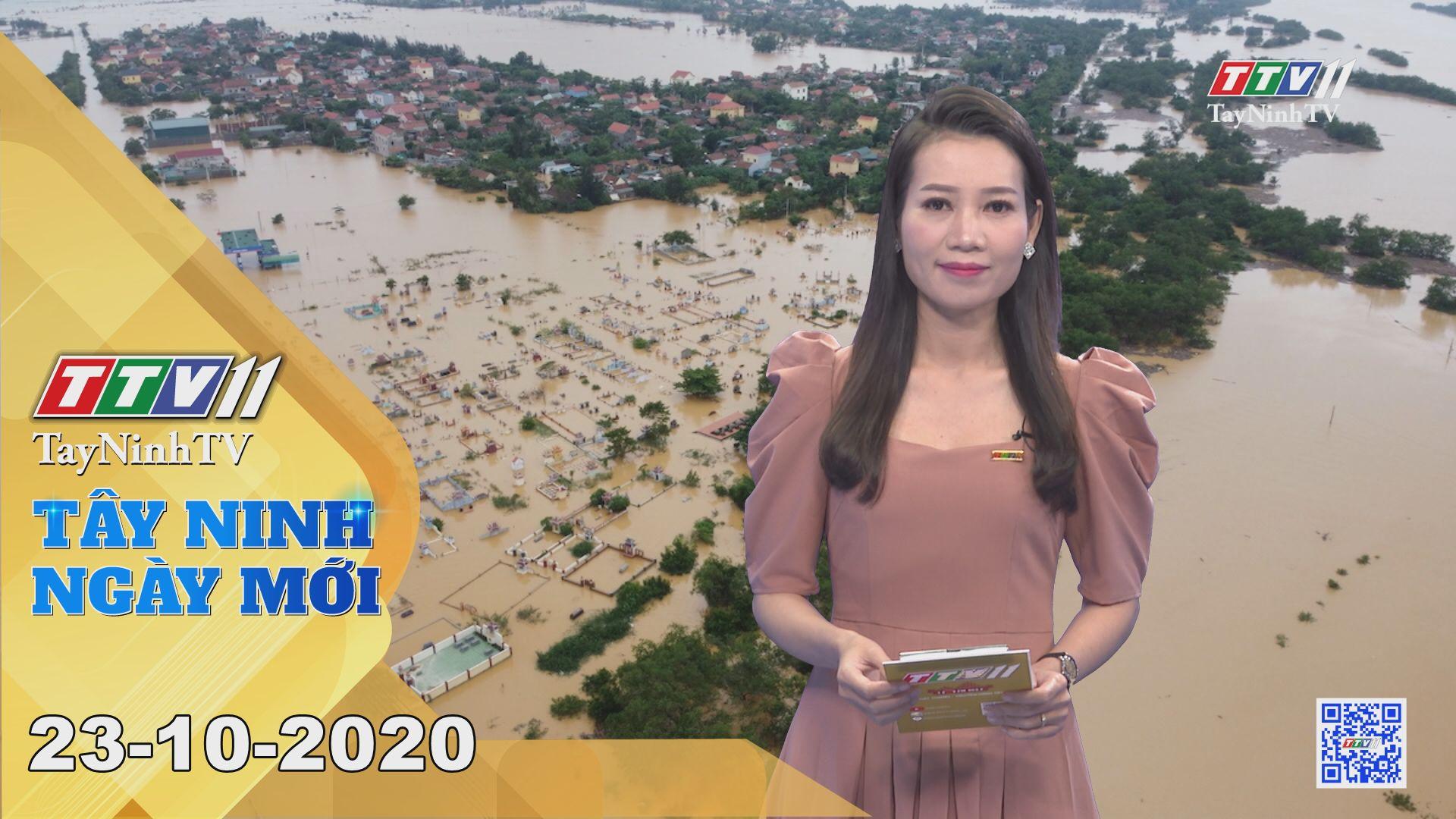 Tây Ninh Ngày Mới 23-10-2020 | Tin tức hôm nay | TayNinhTV