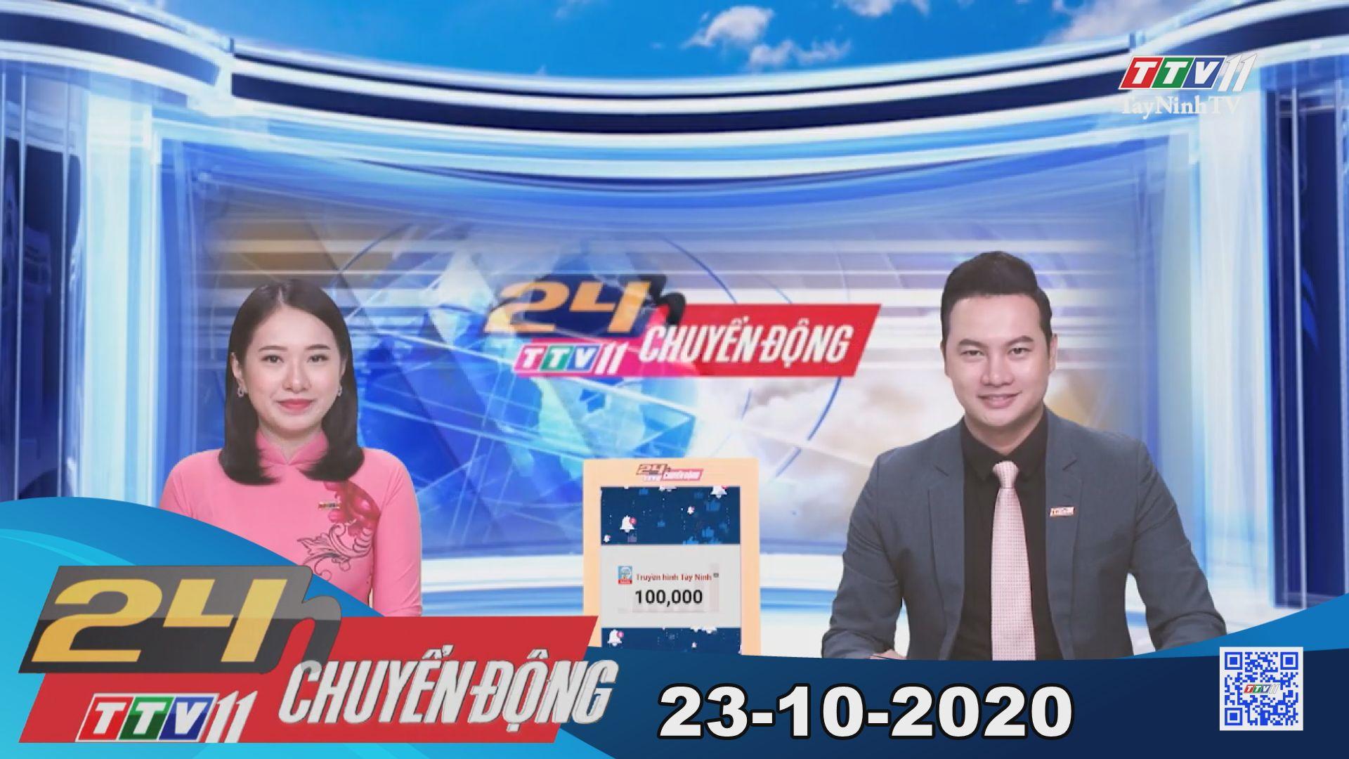 24h Chuyển động 23-10-2020 | Tin tức hôm nay | TayNinhTV