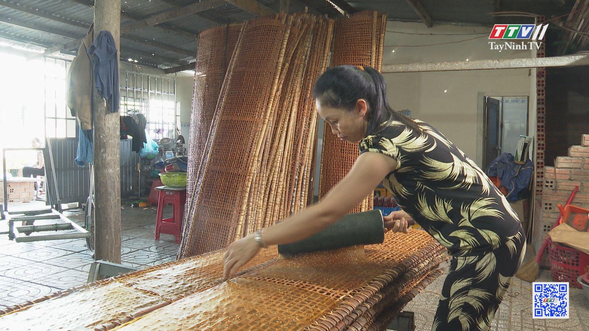 Phụ nữ thị trấn Châu Thành từng bước vươn lên thoát nghèo | GIẢM NGHÈO BỀN VỮNG | TayNinhTV
