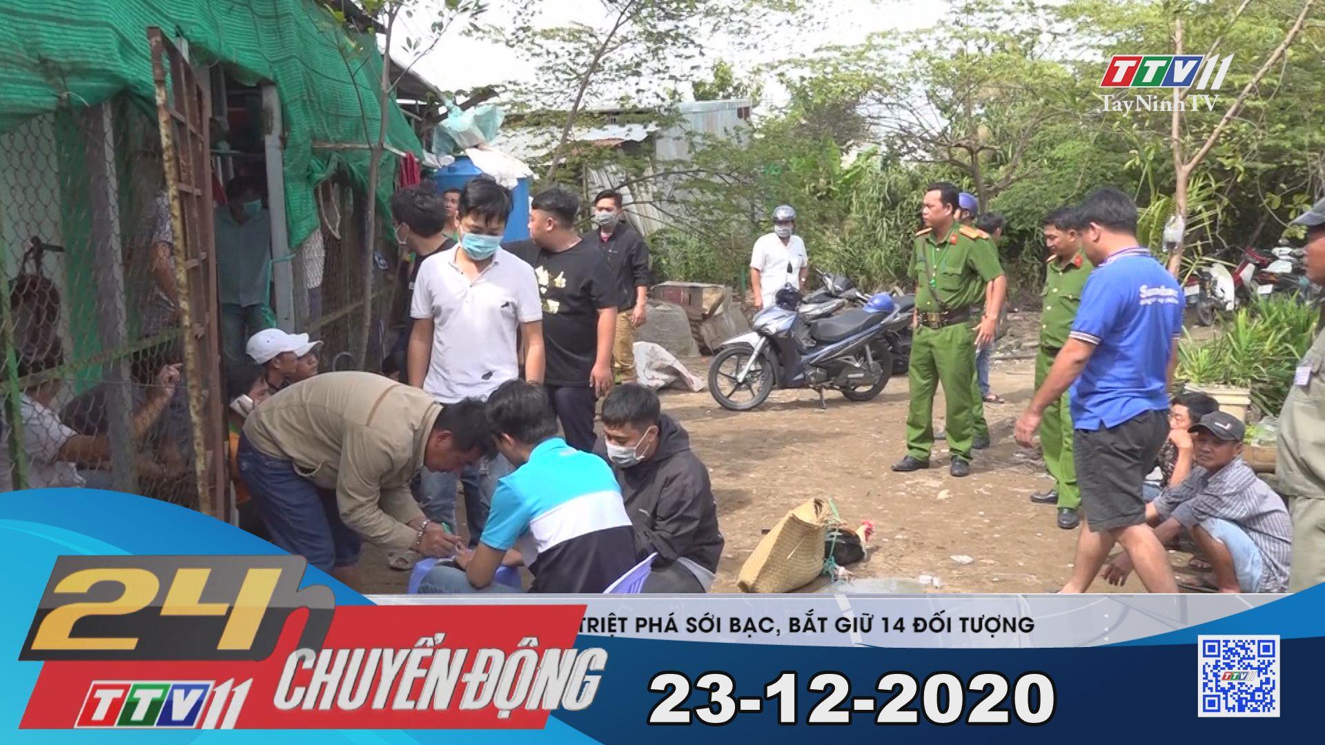 24h Chuyển động 23-12-2020 | Tin tức hôm nay | TayNinhTV