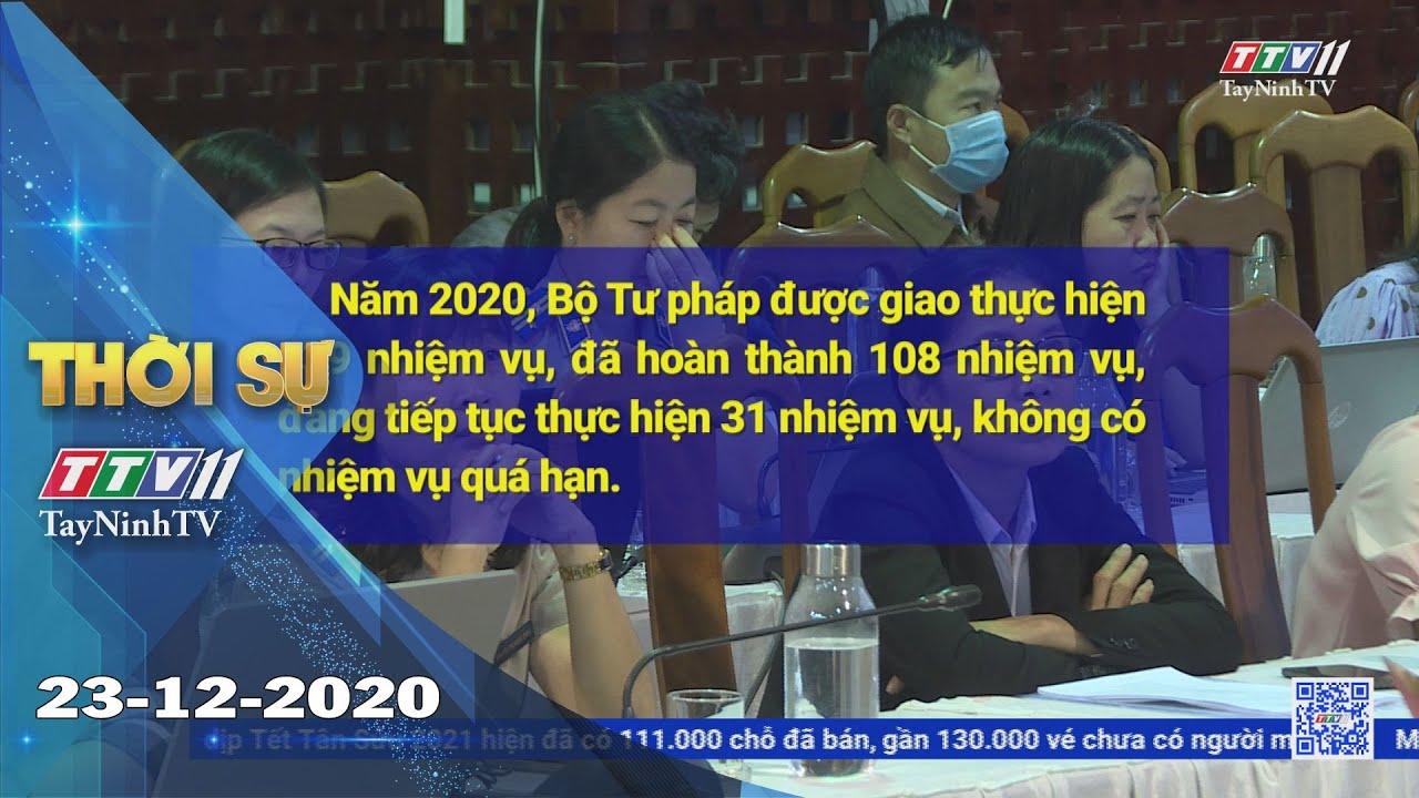 Thời sự Tây Ninh 23-12-2020 | Tin tức hôm nay | TayNinhTV