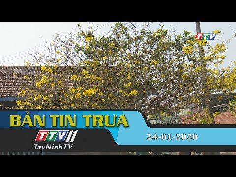 Bản tin trưa 24-01-2020 | Tin tức hôm nay | TayNinhTV