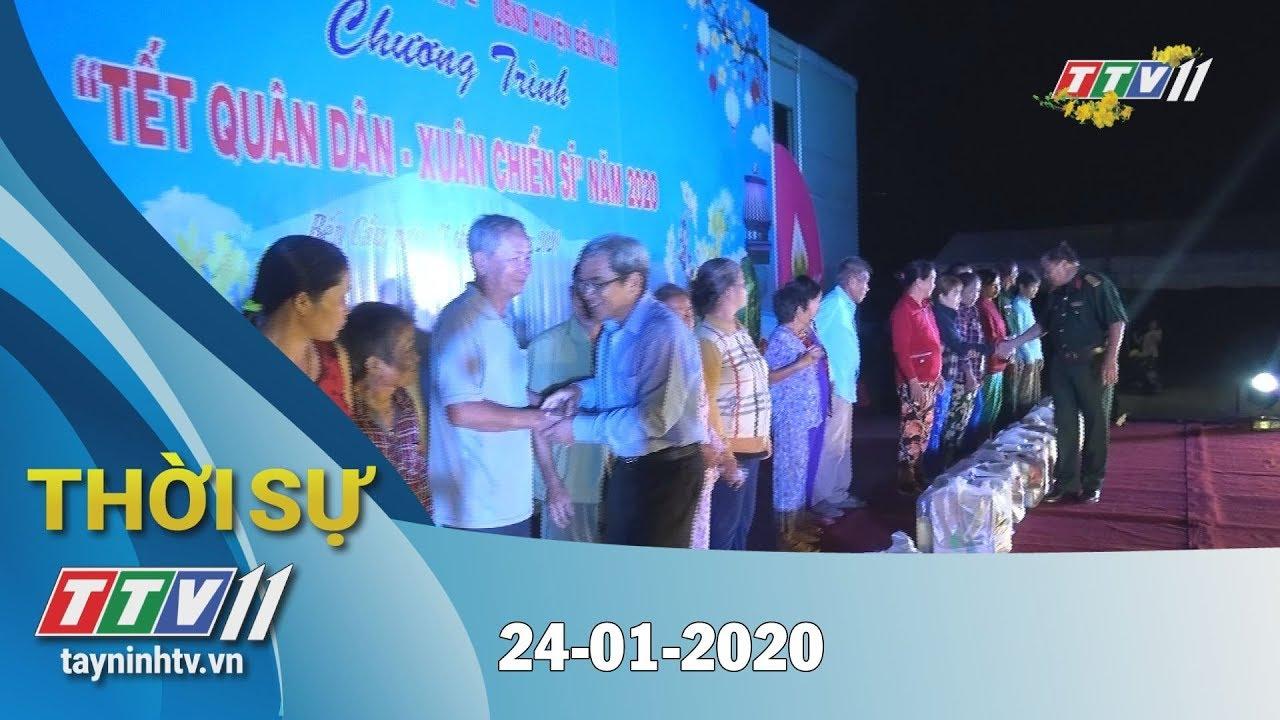 Thời sự Tây Ninh 24-01-2020 | Tin tức hôm nay | TayNinhTV