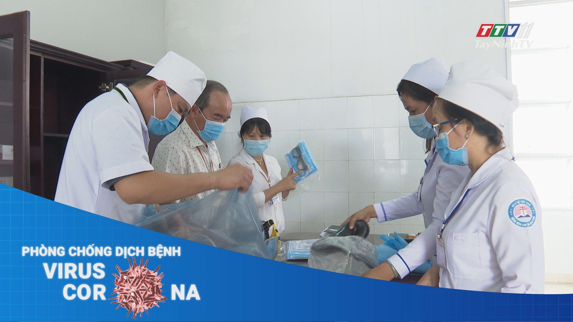 Bệnh viện Lao và Bệnh viện Phổi Tây Ninh phản ứng nhanh với dịch Covid-19 | THÔNG TIN DỊCH CÚM COVID-19 | TayNinhTV