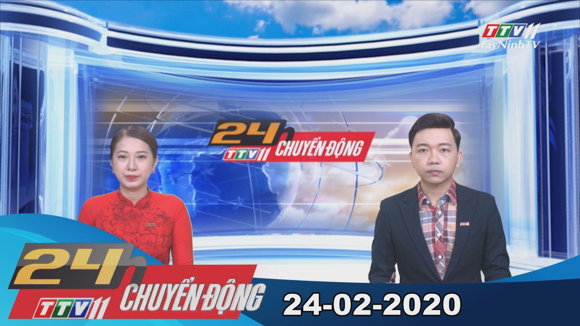 24h Chuyển động 24-02-2020 | Tin tức hôm nay | TayNinhTV