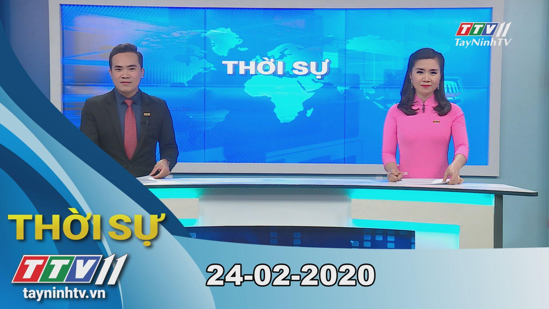Thời sự Tây Ninh 24-02-2020 | Tin tức hôm nay | TayNinhTV