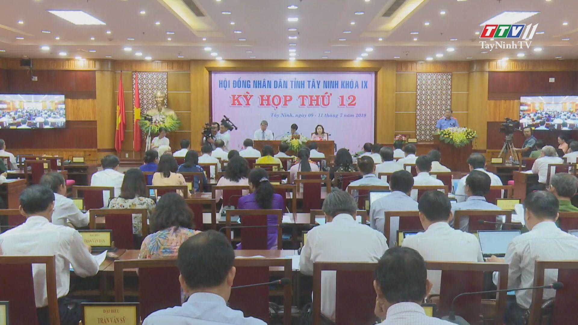 Hội đồng Nhân dân tỉnh Tây Ninh nhiều dấu ấn nổi bật trong năm 2019 | TIẾNG NÓI CỬ TRI | TayNinhTV