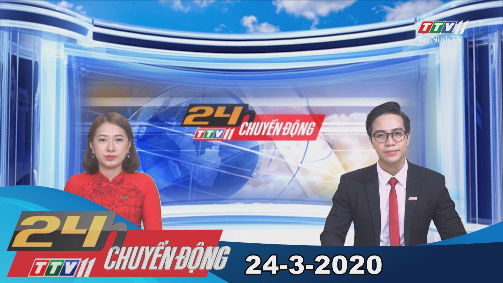 24h Chuyển động 24-3-2020 | Tin tức hôm nay | TayNinhTV