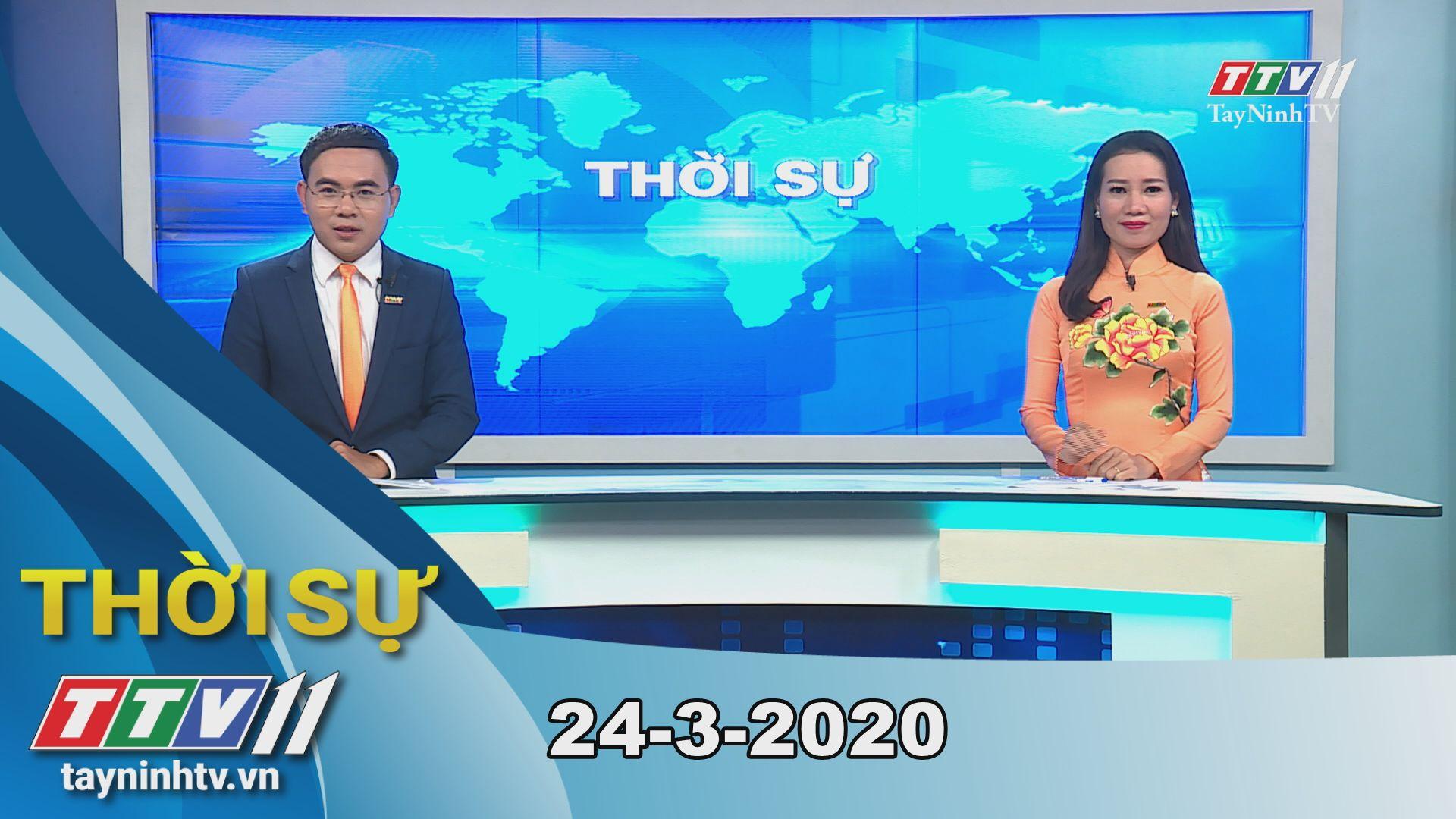 Thời sự Tây Ninh 24-3-2020 | Tin tức hôm nay | TayNinhTV