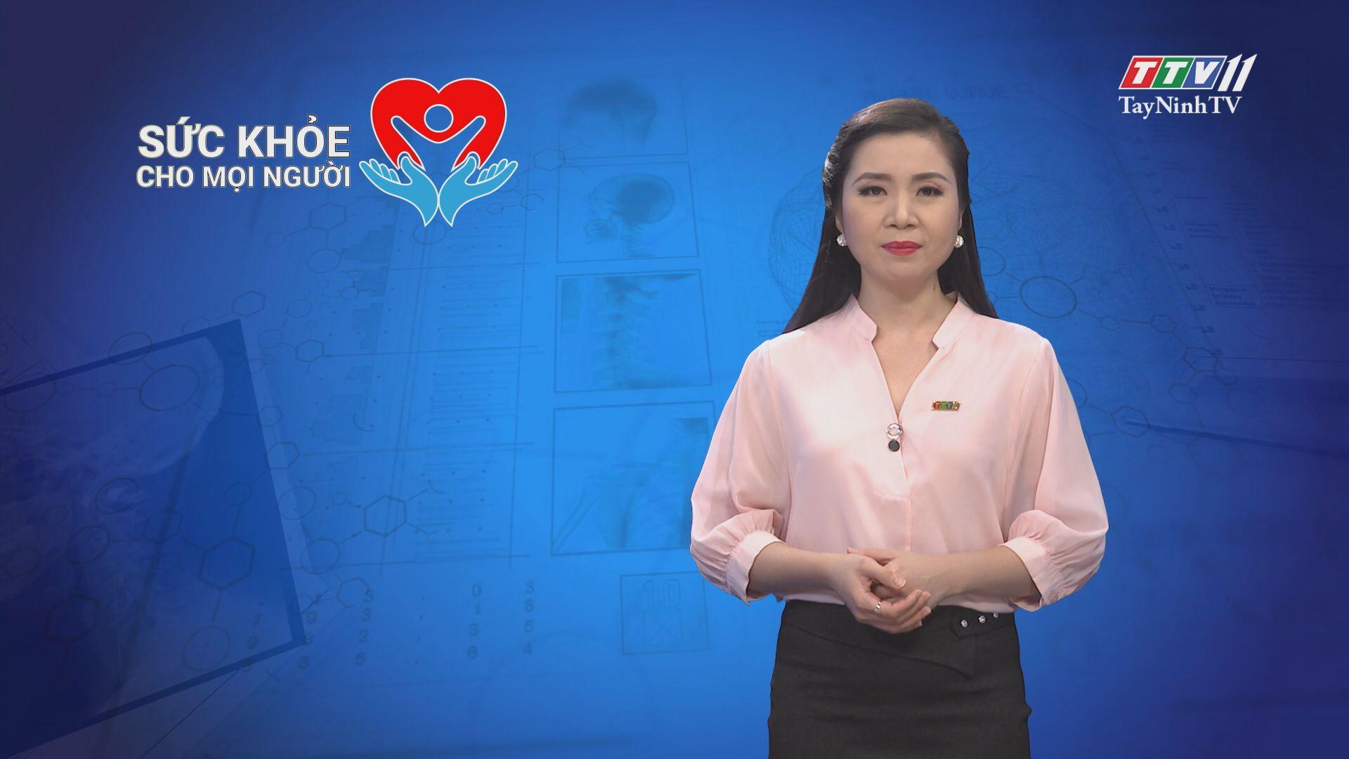 Đảm bảo an toàn thực phẩm trong các trường mầm non | SỨC KHỎE CHO MỌI NGƯỜI | TayNinhTV