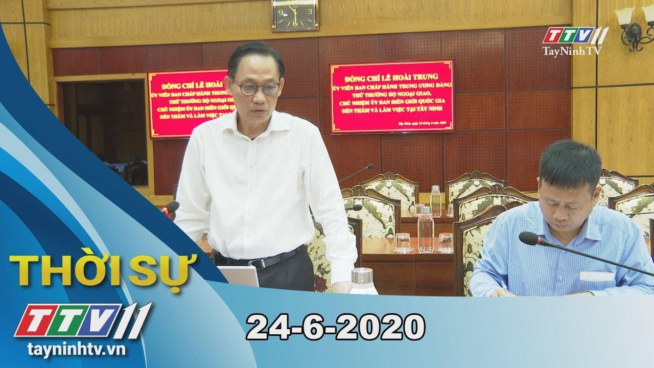 Thời sự Tây Ninh 24-6-2020 | Tin tức hôm nay | TayNinhTV