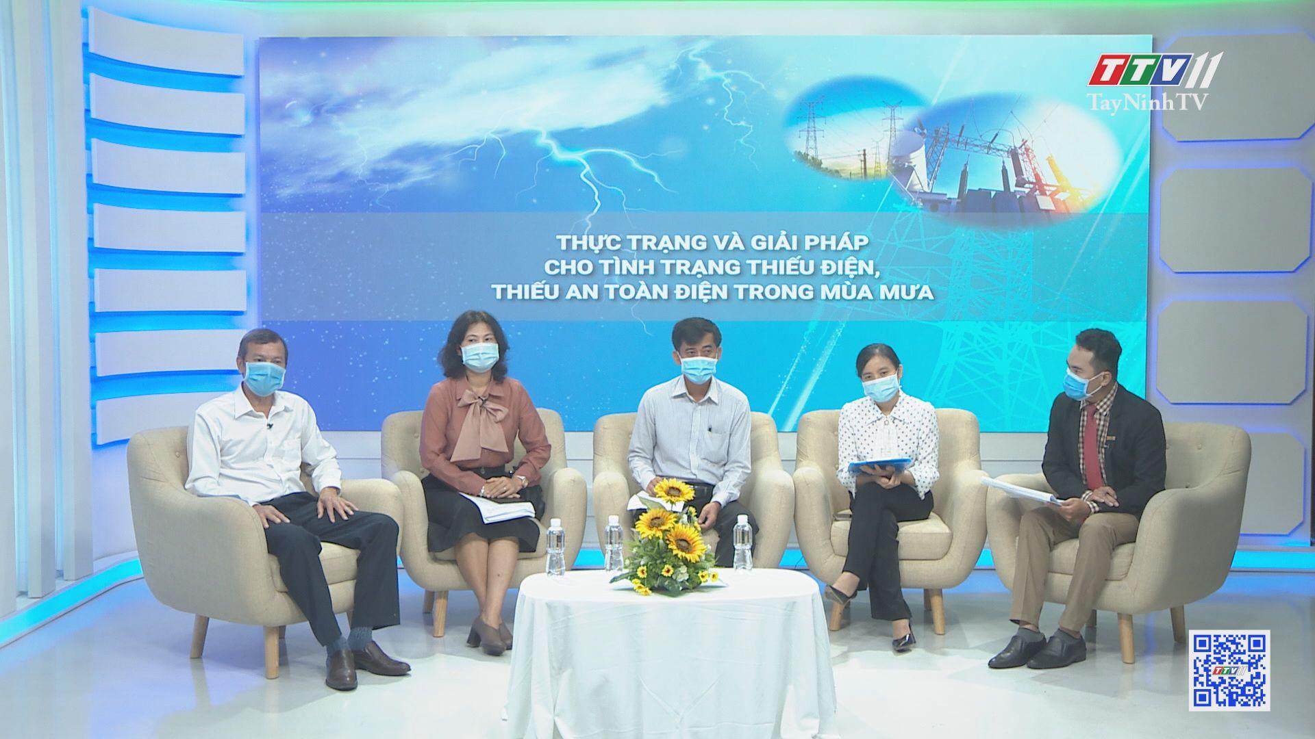 Thực trạng và giải pháp cho tình trạng thiếu điện, thiếu an toàn điện trong mùa mưa | TIẾNG NÓI CỬ TRI | TayNinhTV