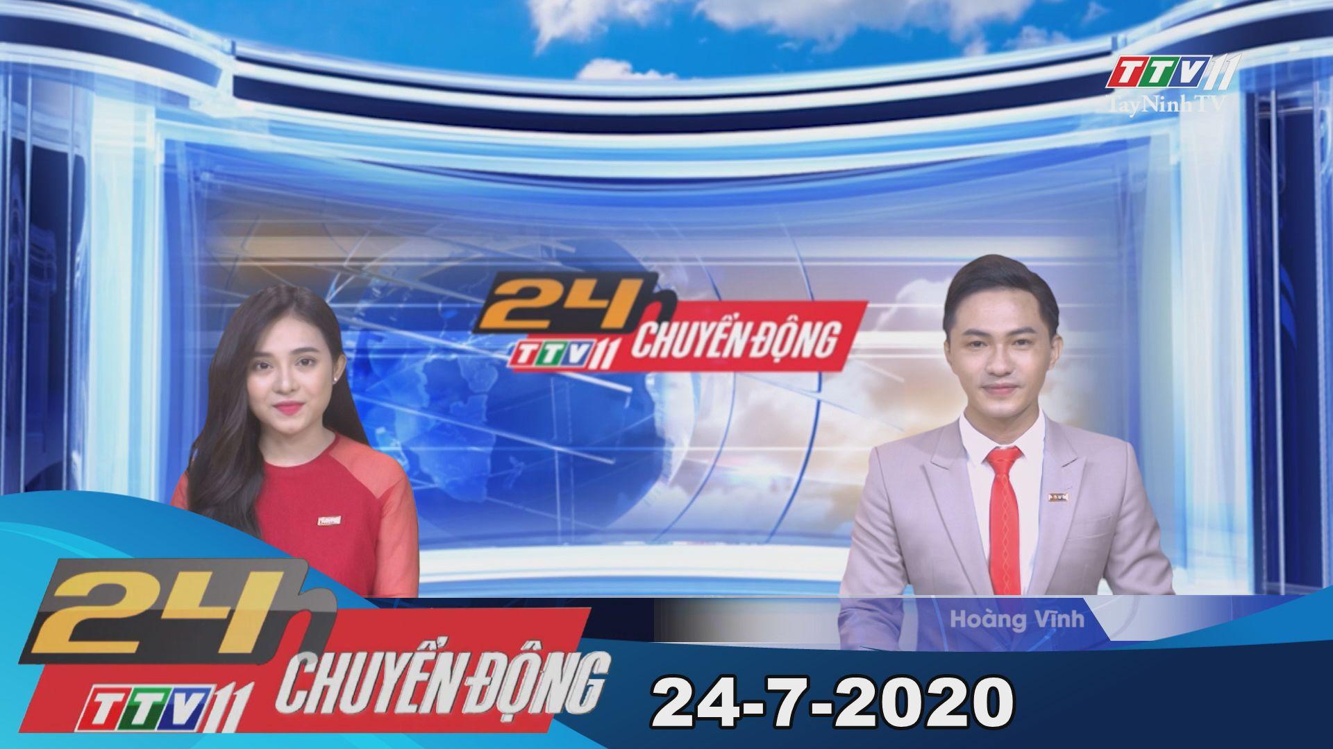 24h Chuyển động 24-7-2020 | Tin tức hôm nay | TayNinhTV