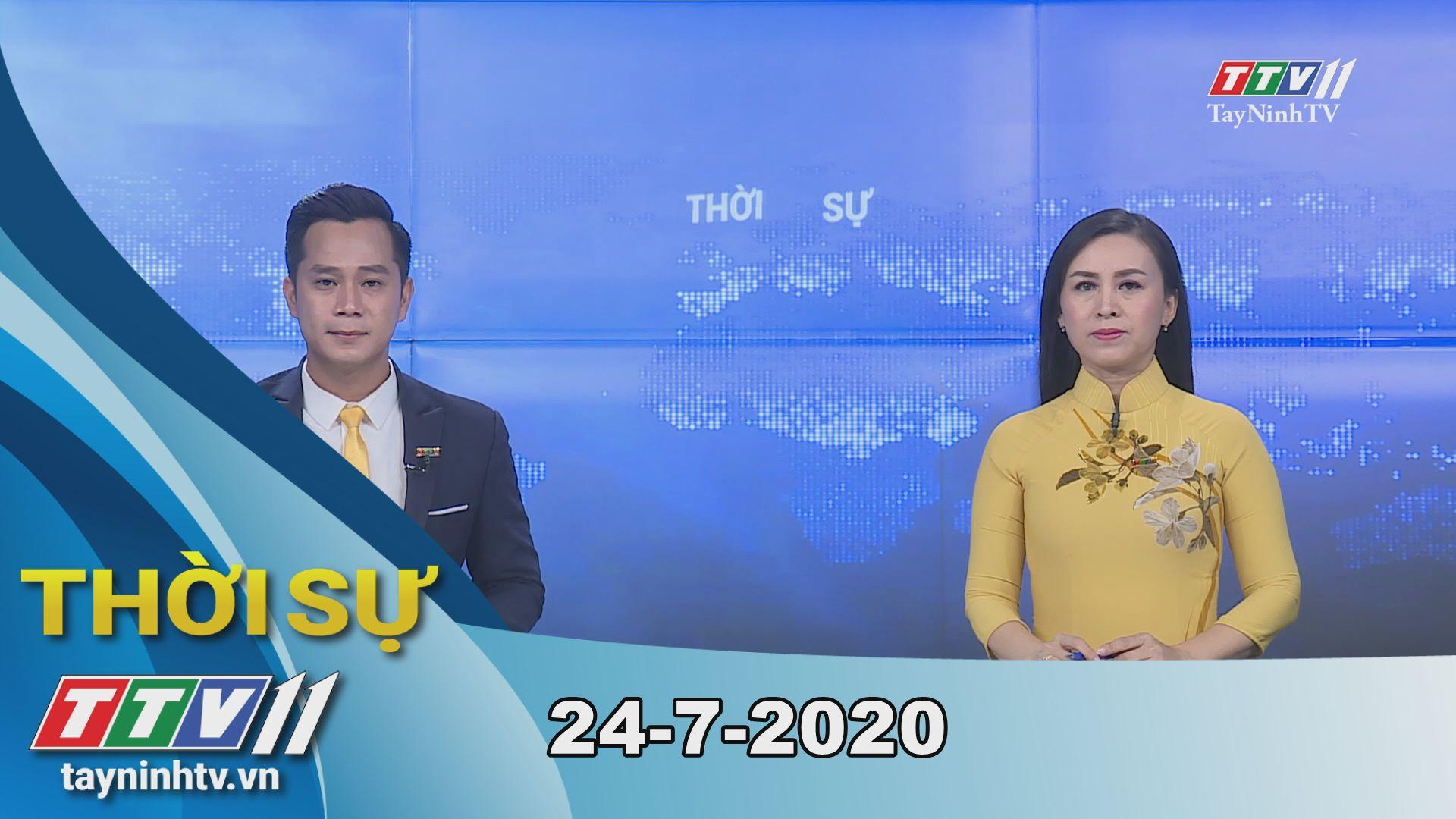 Thời sự Tây Ninh 24-7-2020 | Tin tức hôm nay | TayNinhTV