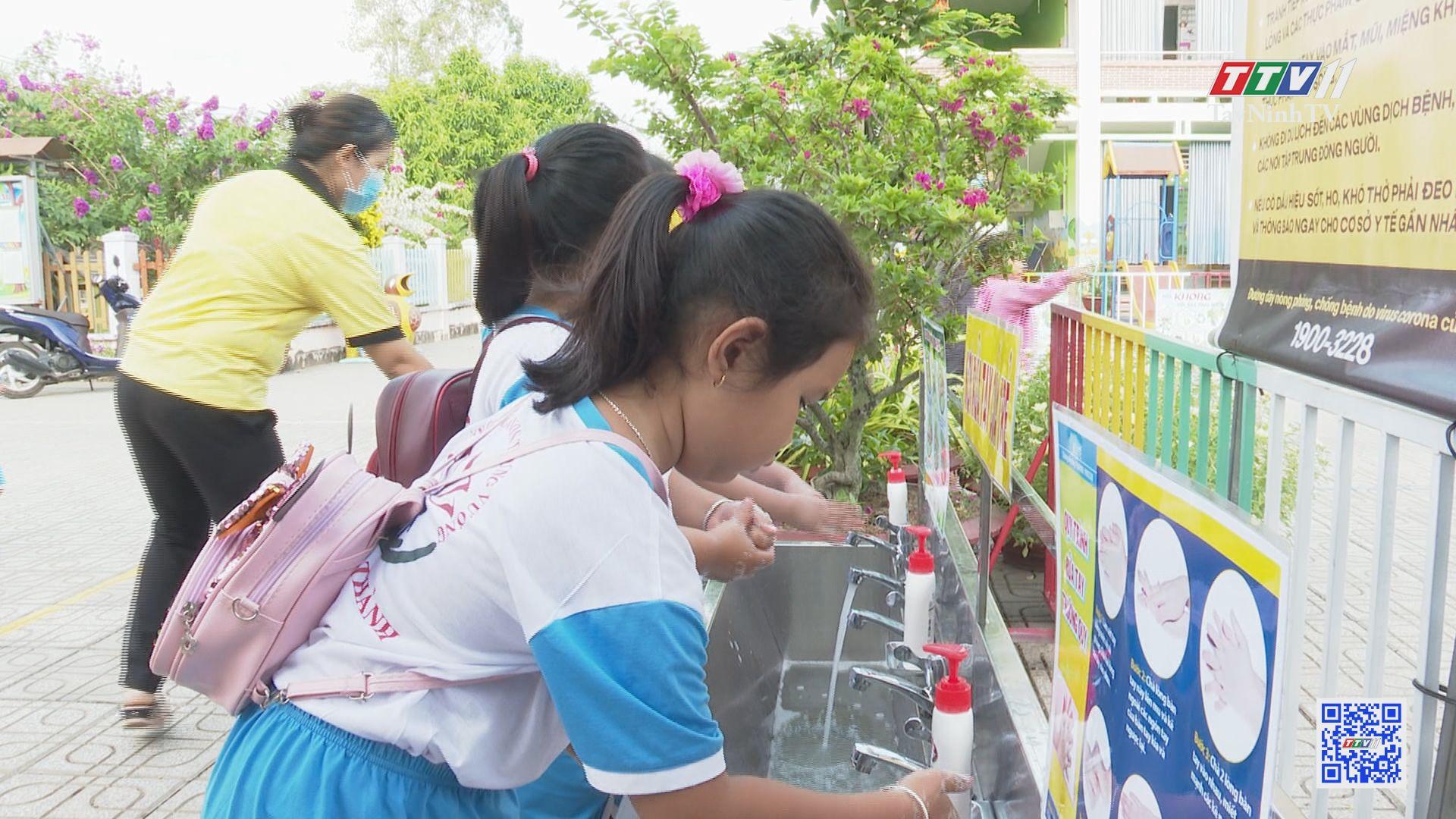 Châu Thành tích cực chuẩn bị cho năm học mới 2020-2021 | GIÁO DỤC ĐÀO TẠO | TayNinhTV