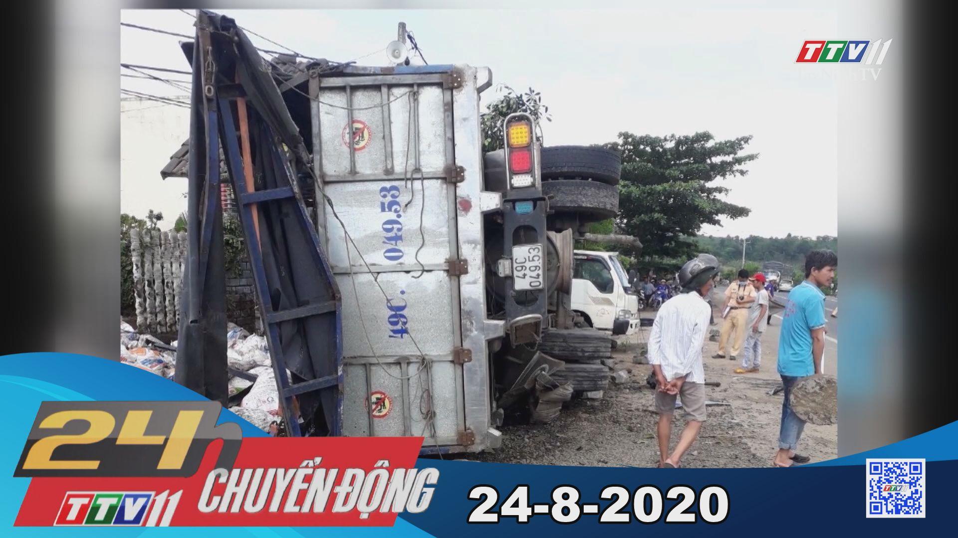24h Chuyển động 24-8-2020 | Tin tức hôm nay | TayNinhTV