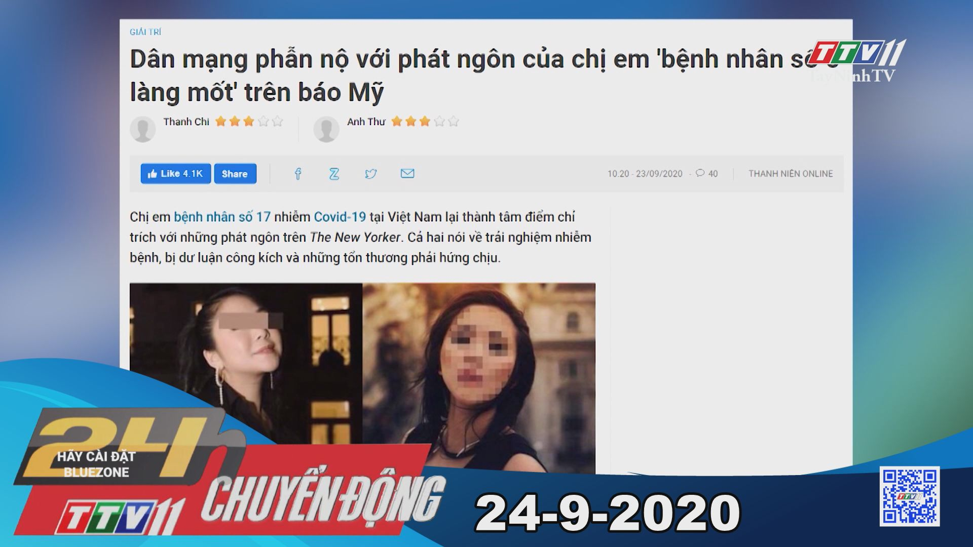 24h Chuyển động 24-9-2020 | Tin tức hôm nay | TayNinhTV