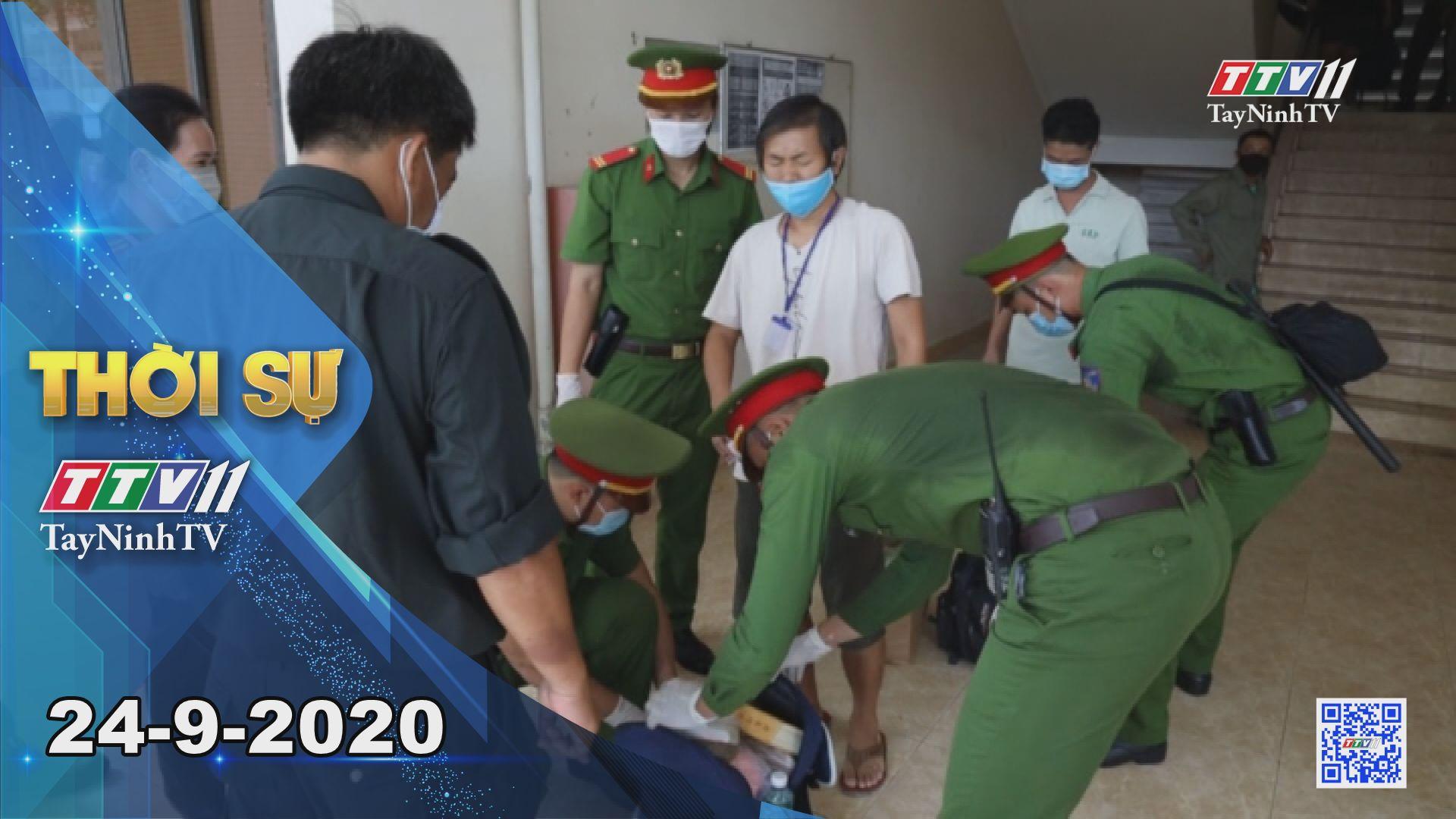 Thời sự Tây Ninh 24-9-2020 | Tin tức hôm nay | TayNinhTV