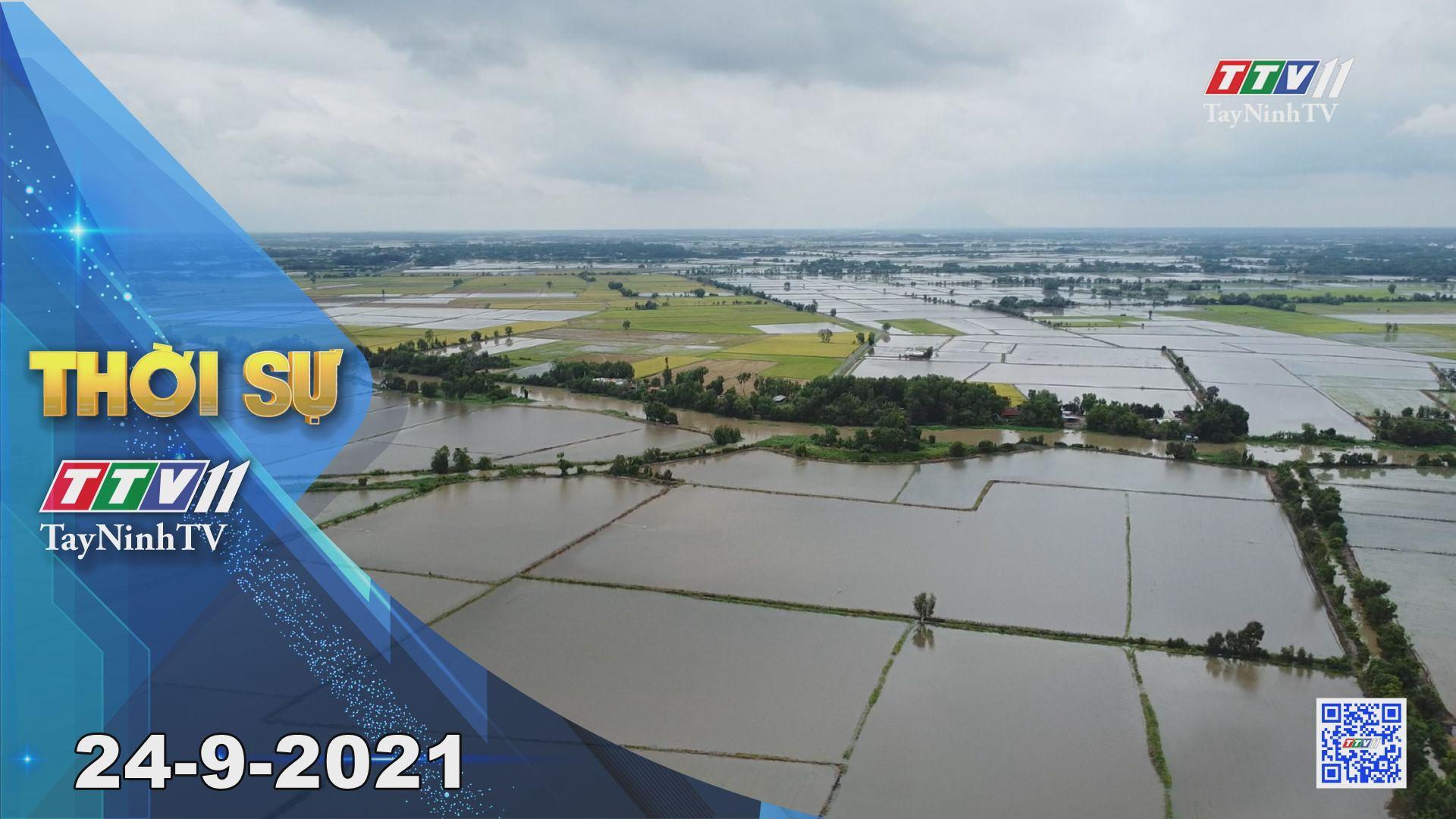 Thời sự Tây Ninh 24/9/2021 | Tin tức hôm nay | TayNinhTV