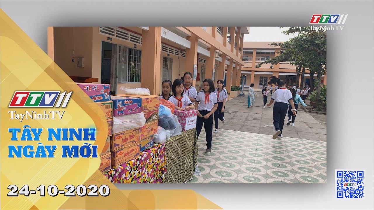 Tây Ninh Ngày Mới 24-10-2020 | Tin tức hôm nay | TayNinhTV