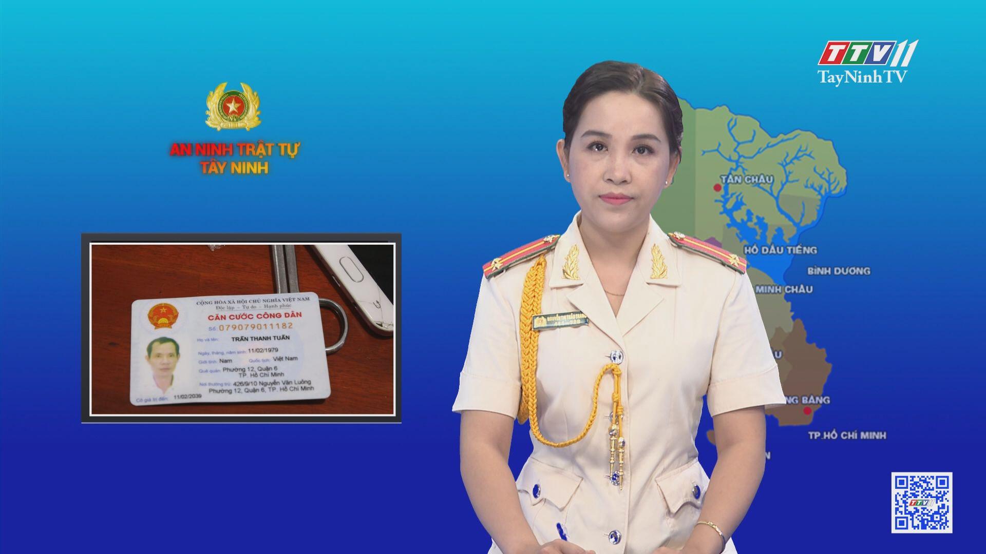 CA huyện Dương Minh Châu tạm giữ hình sự 2 đối tượng vận chuyển trái phép chất ma túy | AN NINH TÂY NINH | TayNinhTV