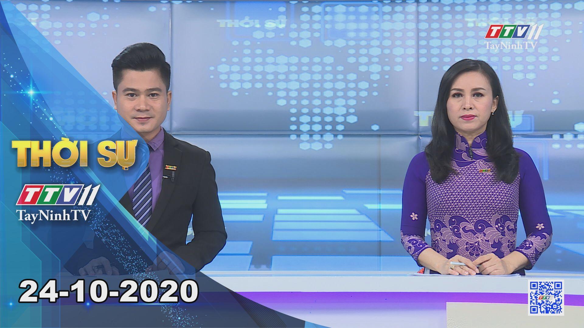 Thời sự Tây Ninh 24-10-2020 | Tin tức hôm nay | TayNinhTV