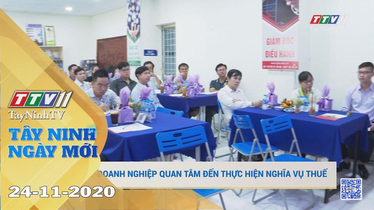 Tây Ninh Ngày Mới 24-11-2020 | Tin tức hôm nay | TayNinhTV